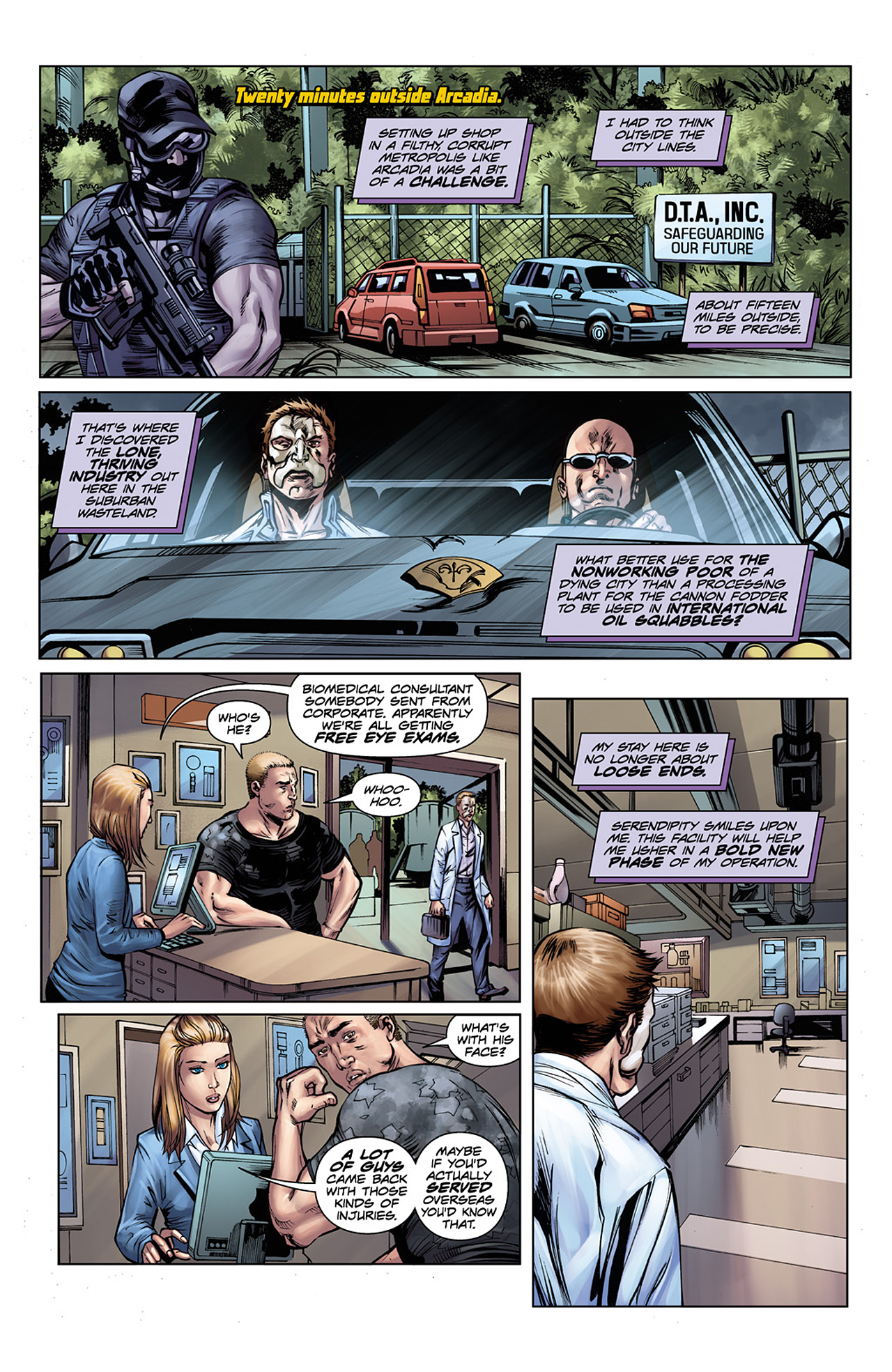 Read online Two Past Midnight comic -  Issue #3 - 14