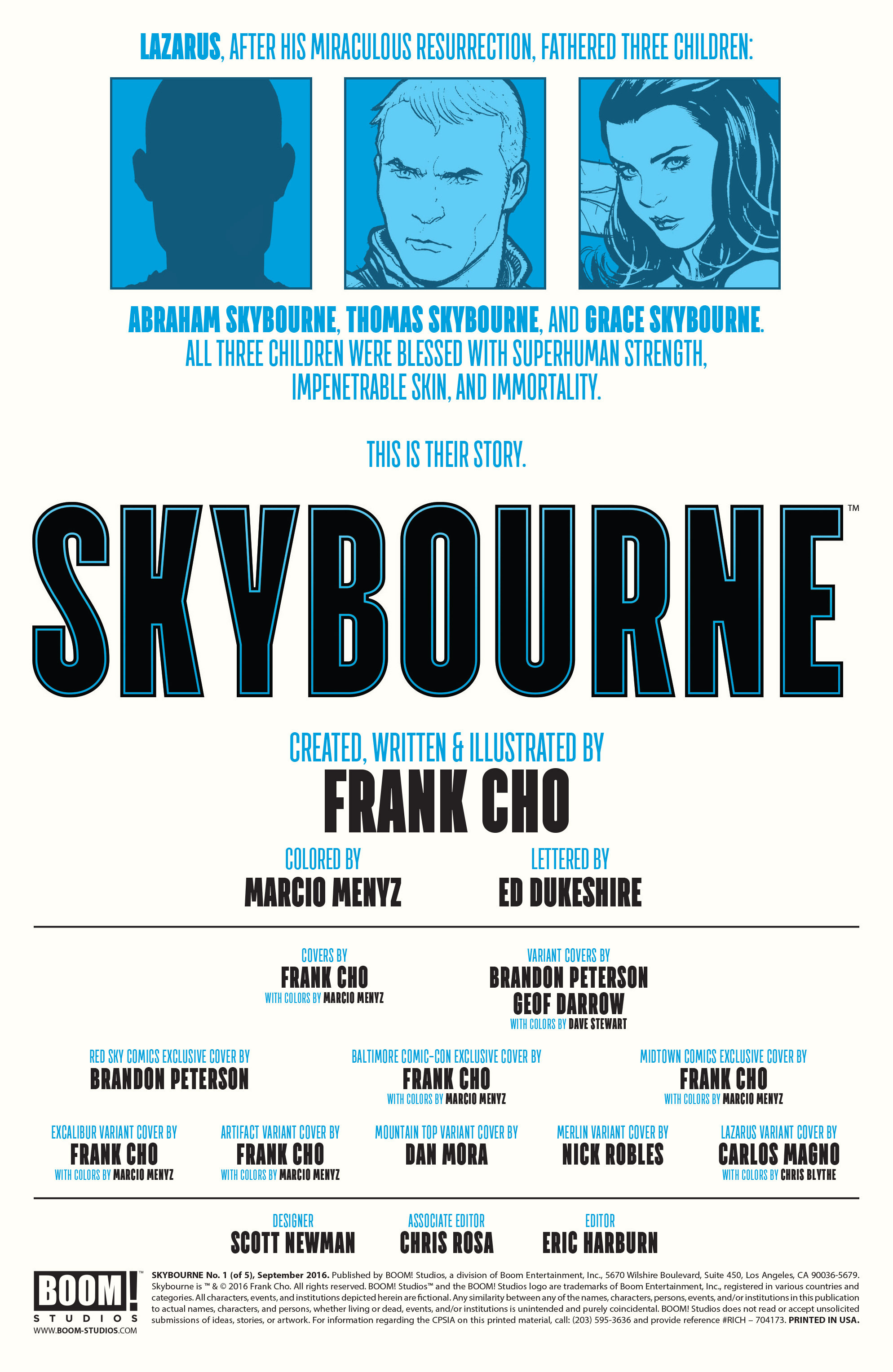 Read online Skybourne comic -  Issue #1 - 2
