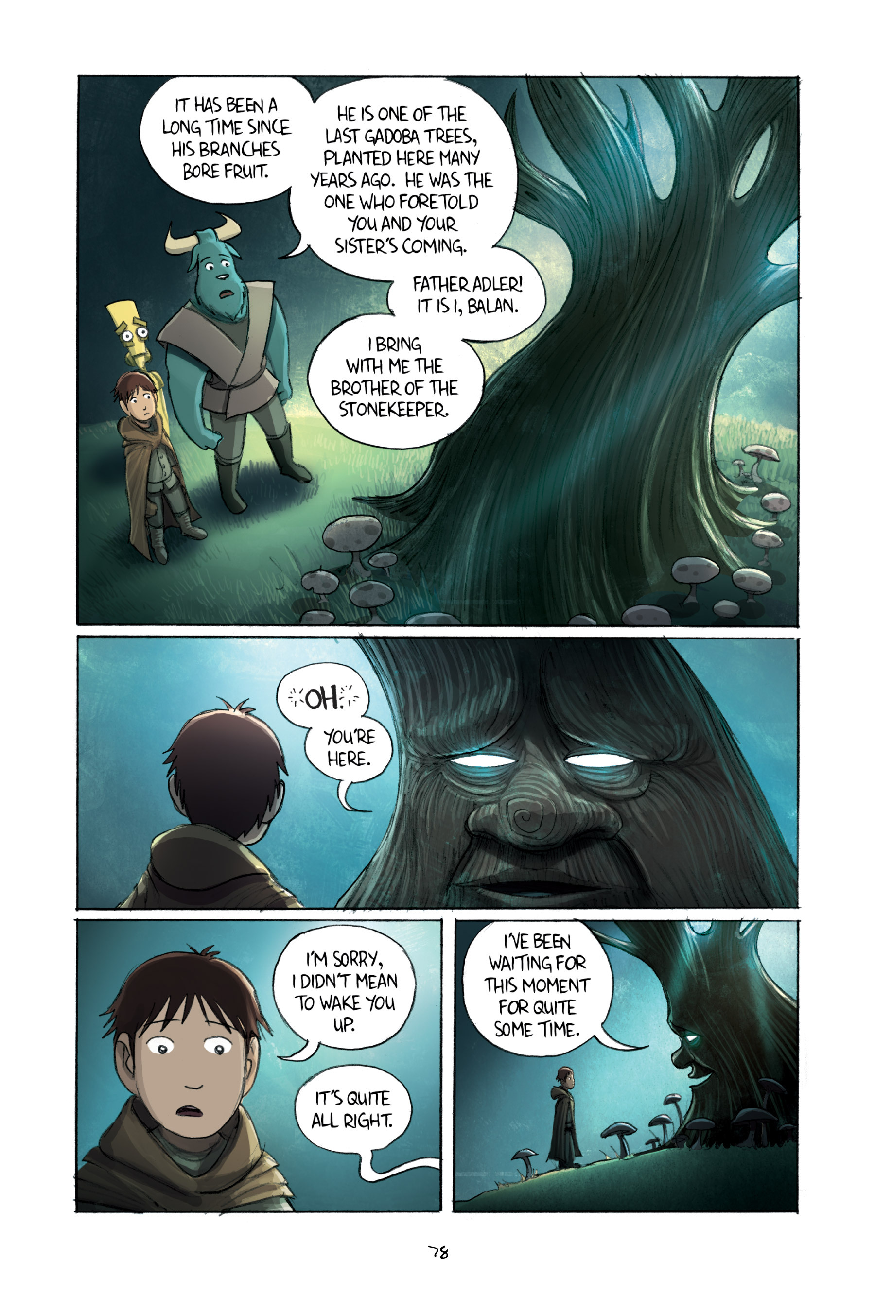 Read online Amulet comic -  Issue #2 - 79