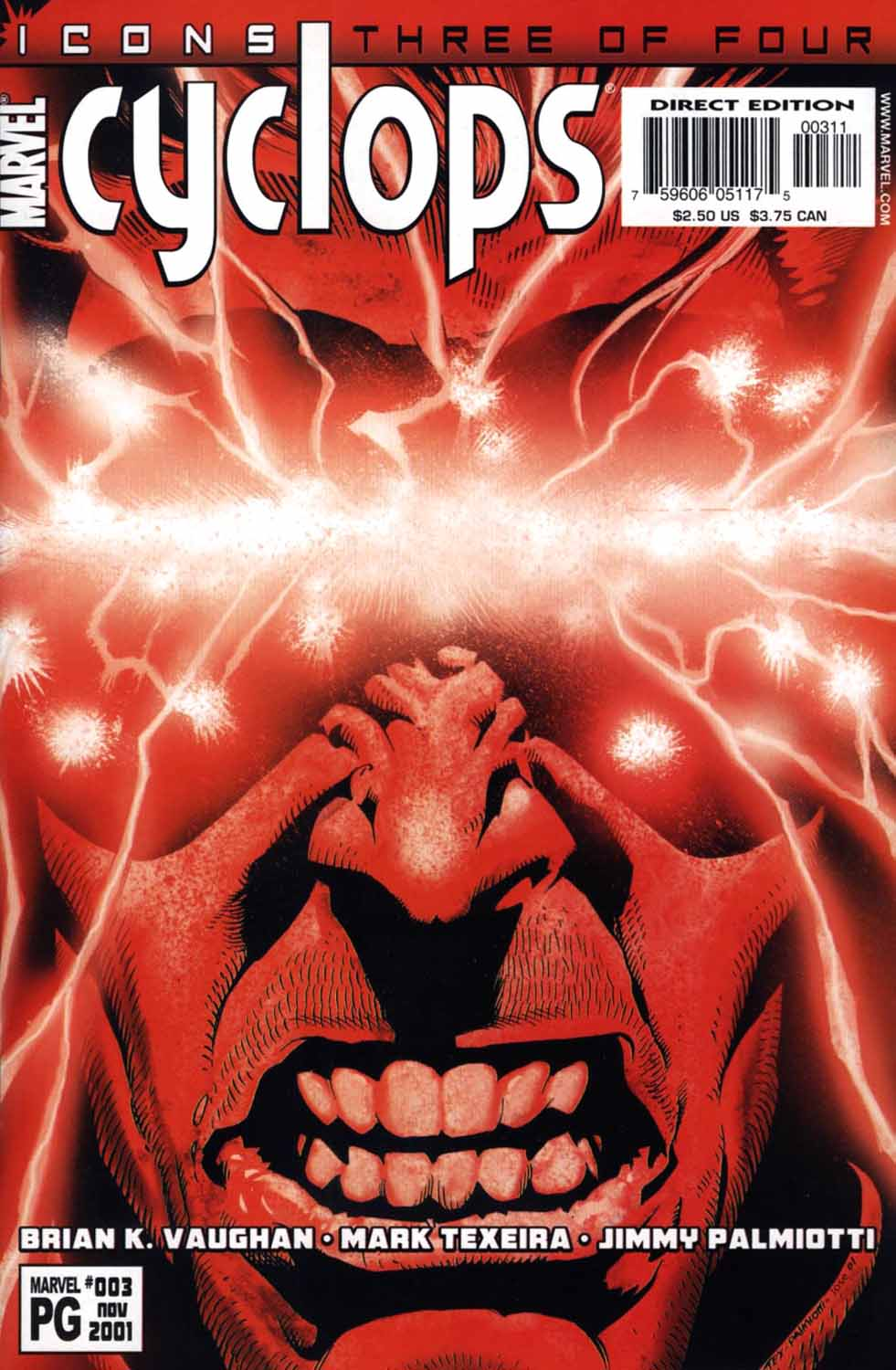 Read online Cyclops (2001) comic -  Issue #3 - 1