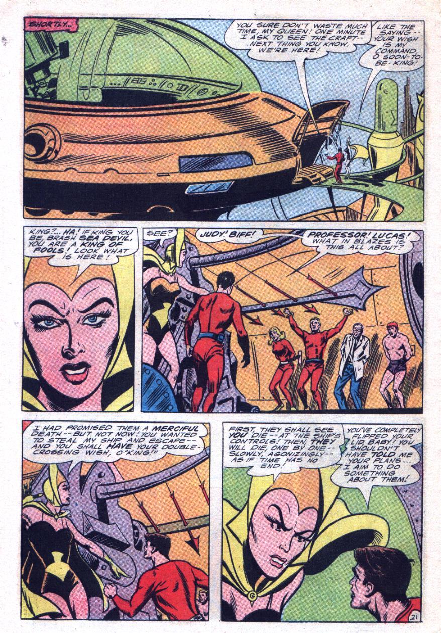 Read online Sea Devils comic -  Issue #29 - 29
