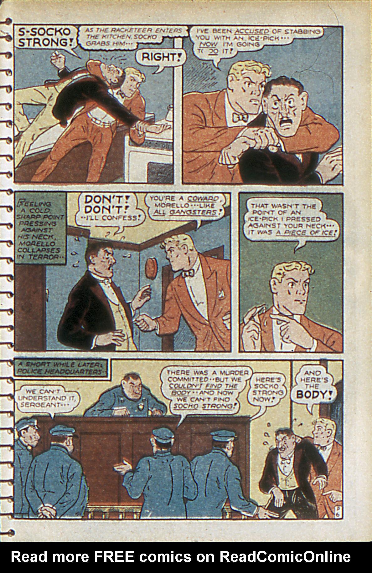 Read online Adventure Comics (1938) comic -  Issue #55 - 46