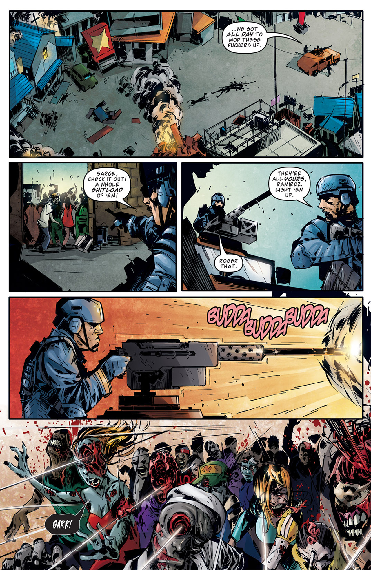 Read online Dead Rising: Road to Fortune comic -  Issue # TPB - 32