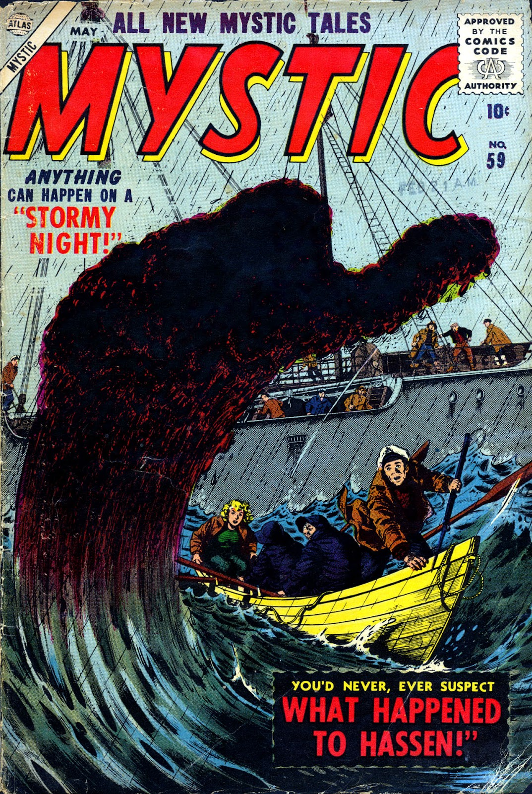 Mystic (1951) issue 59 - Page 1