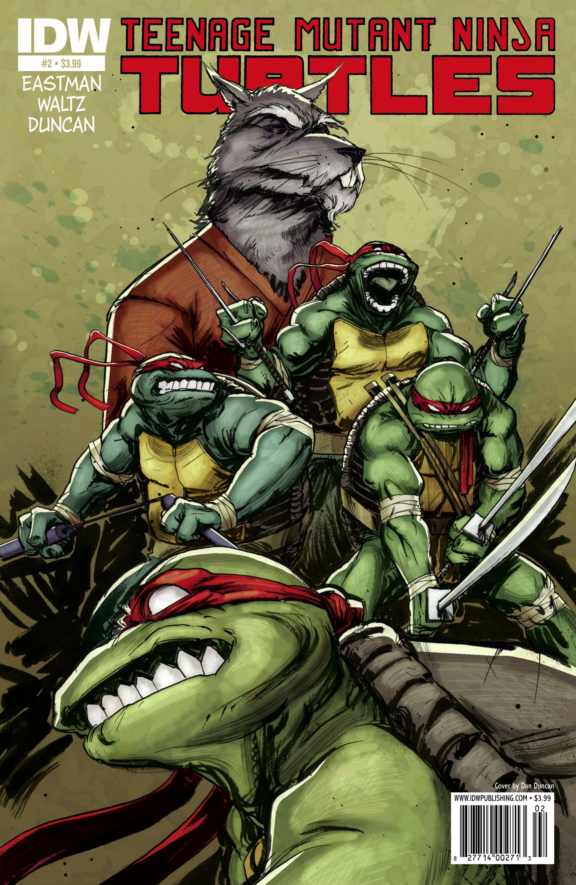 Teenage Mutant Ninja Turtles (2011) issue 2 - Page 1