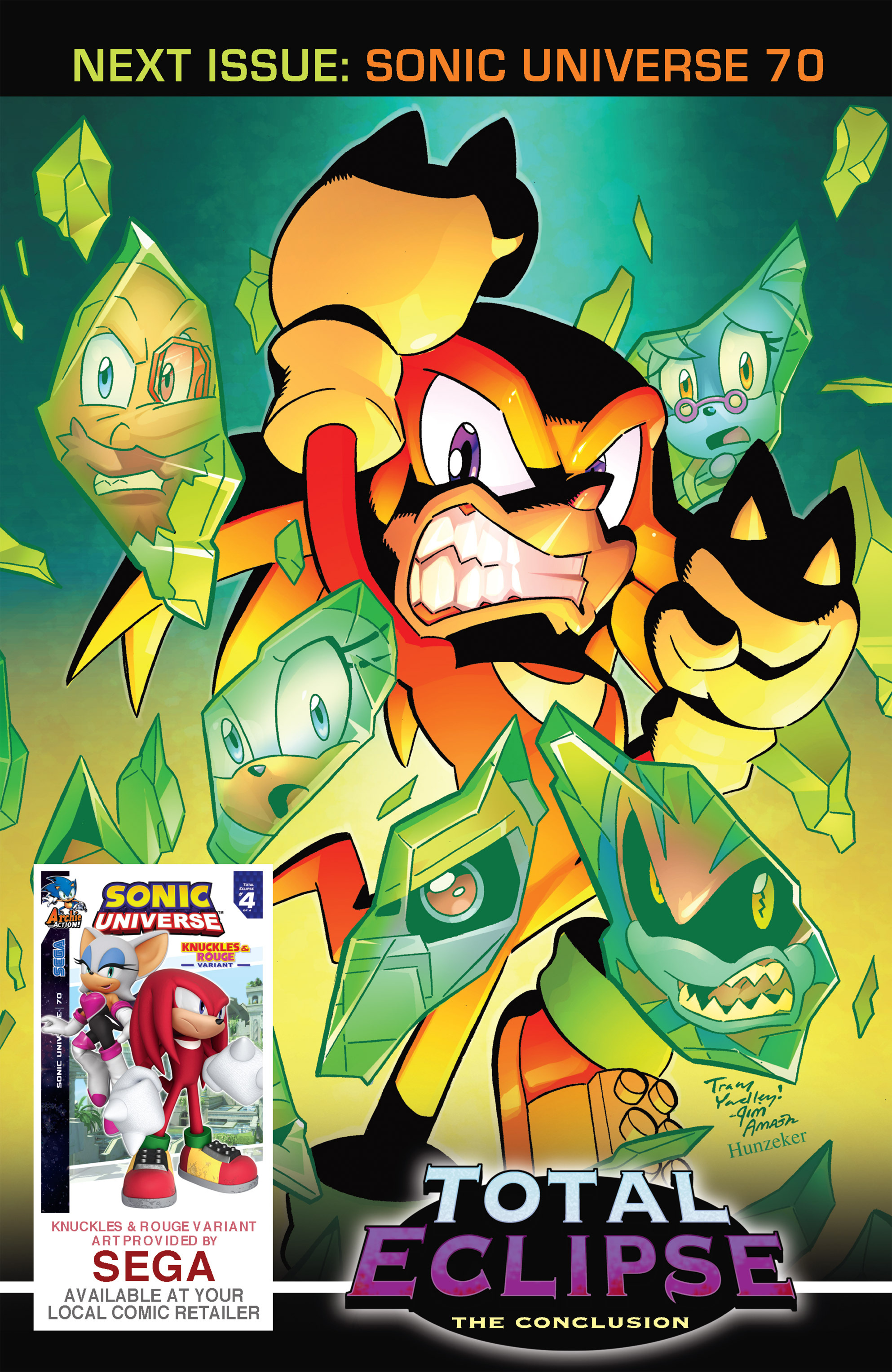 Read online Sonic Universe comic -  Issue #69 - 25