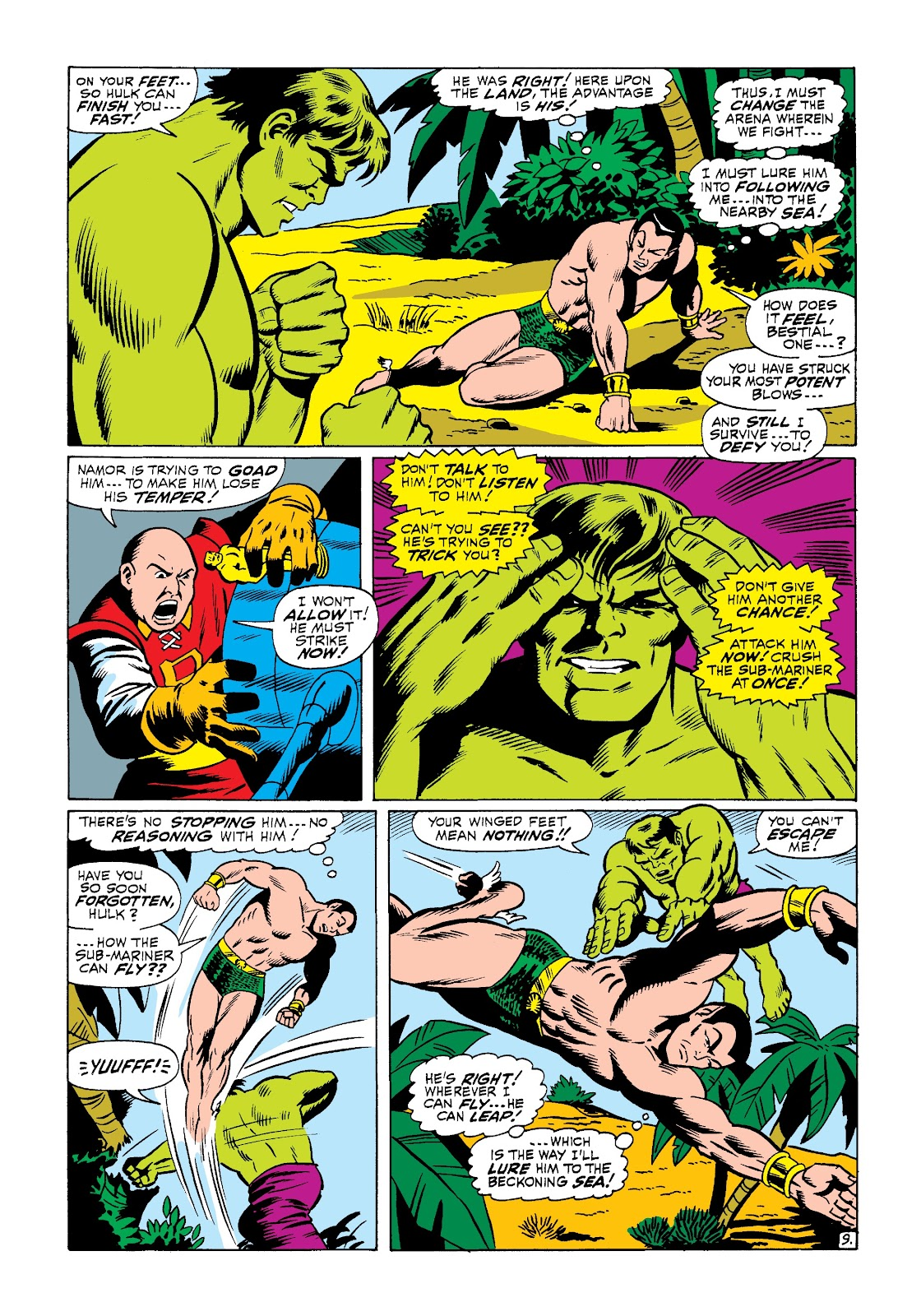 Read online Marvel Masterworks: The Incredible Hulk comic -  Issue # TPB 3 (Part 3) - 37