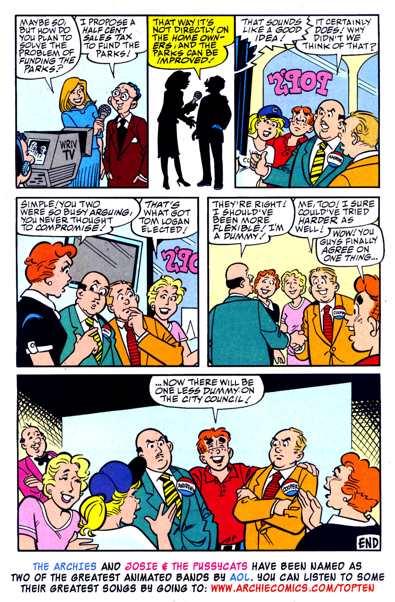 Read online Archie (1960) comic -  Issue #578 - 13