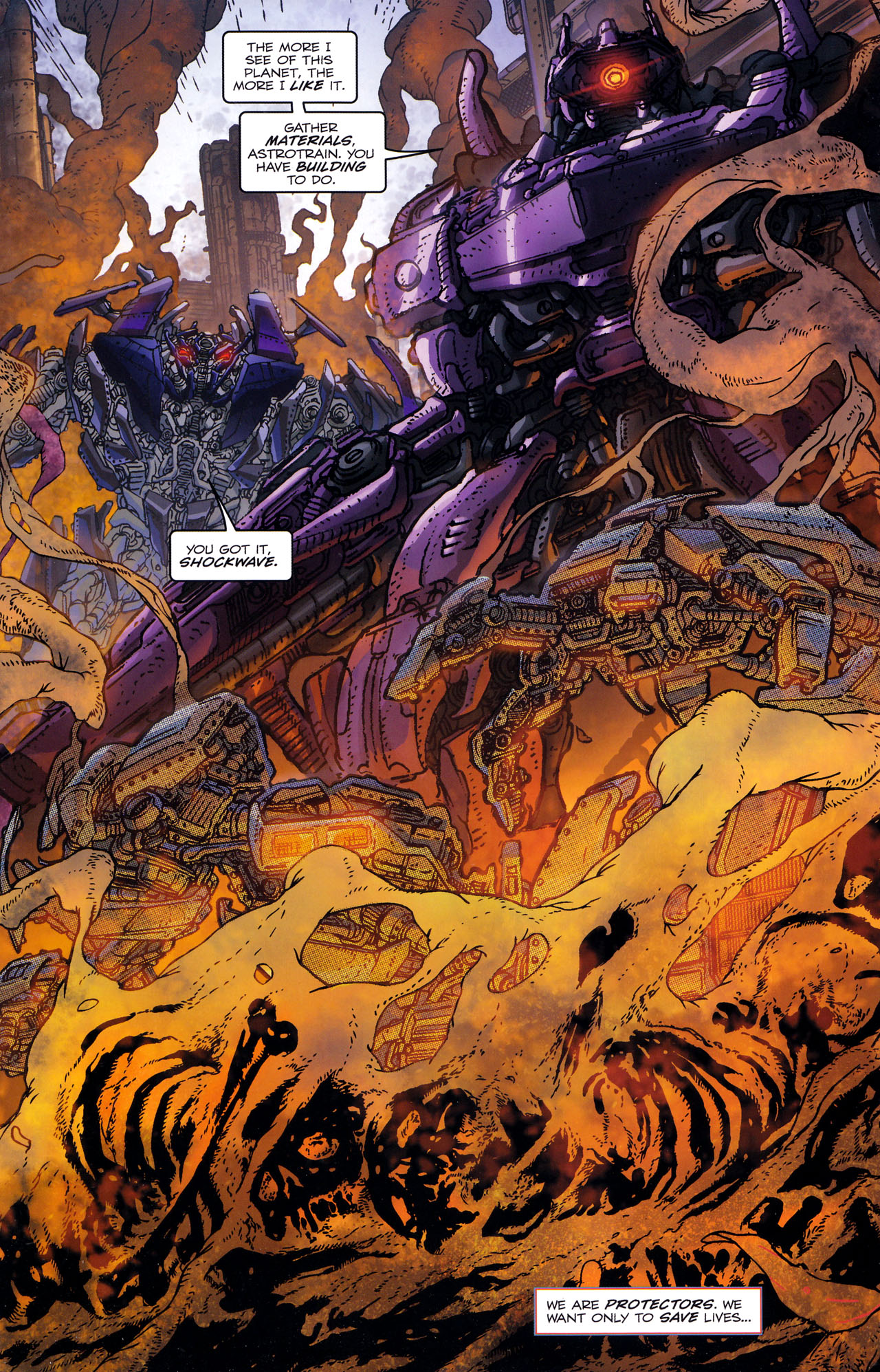 Read online Transformers: Dark of the Moon Rising Storm comic -  Issue #1 - 9