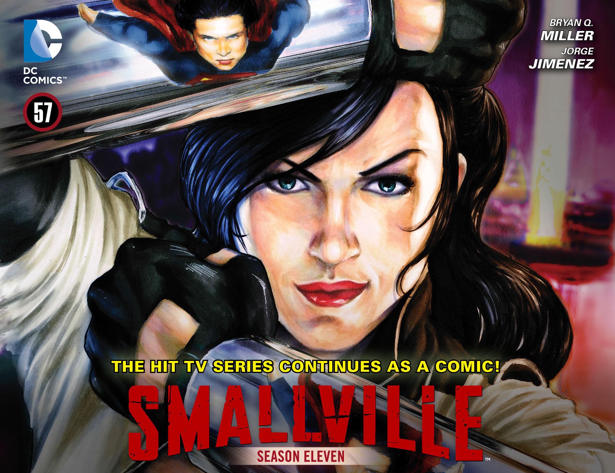 Read online Smallville: Season 11 comic -  Issue #57 - 1