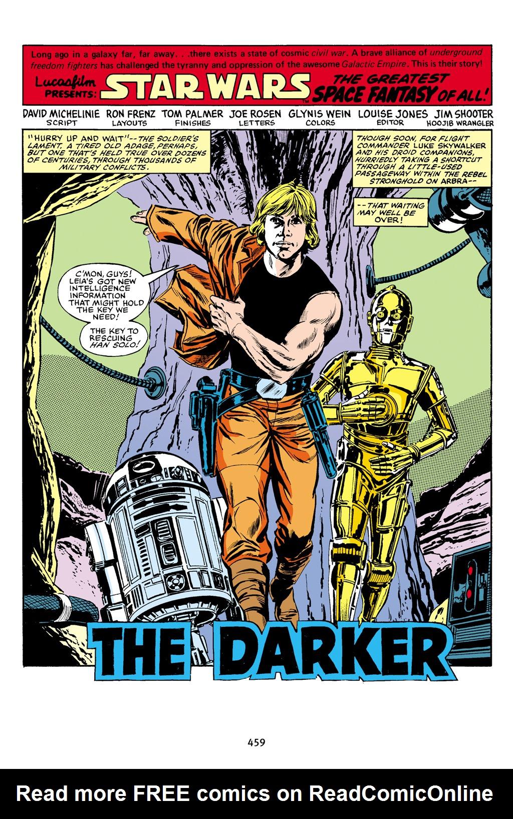 Read online Star Wars Omnibus comic -  Issue # Vol. 16 - 450