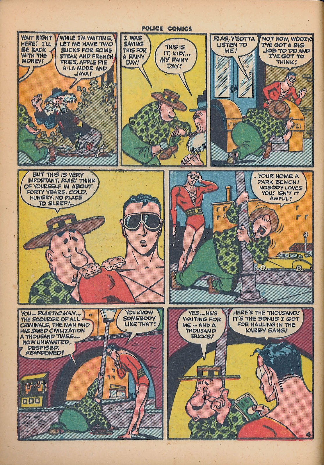 Police Comics issue 44 - Page 6