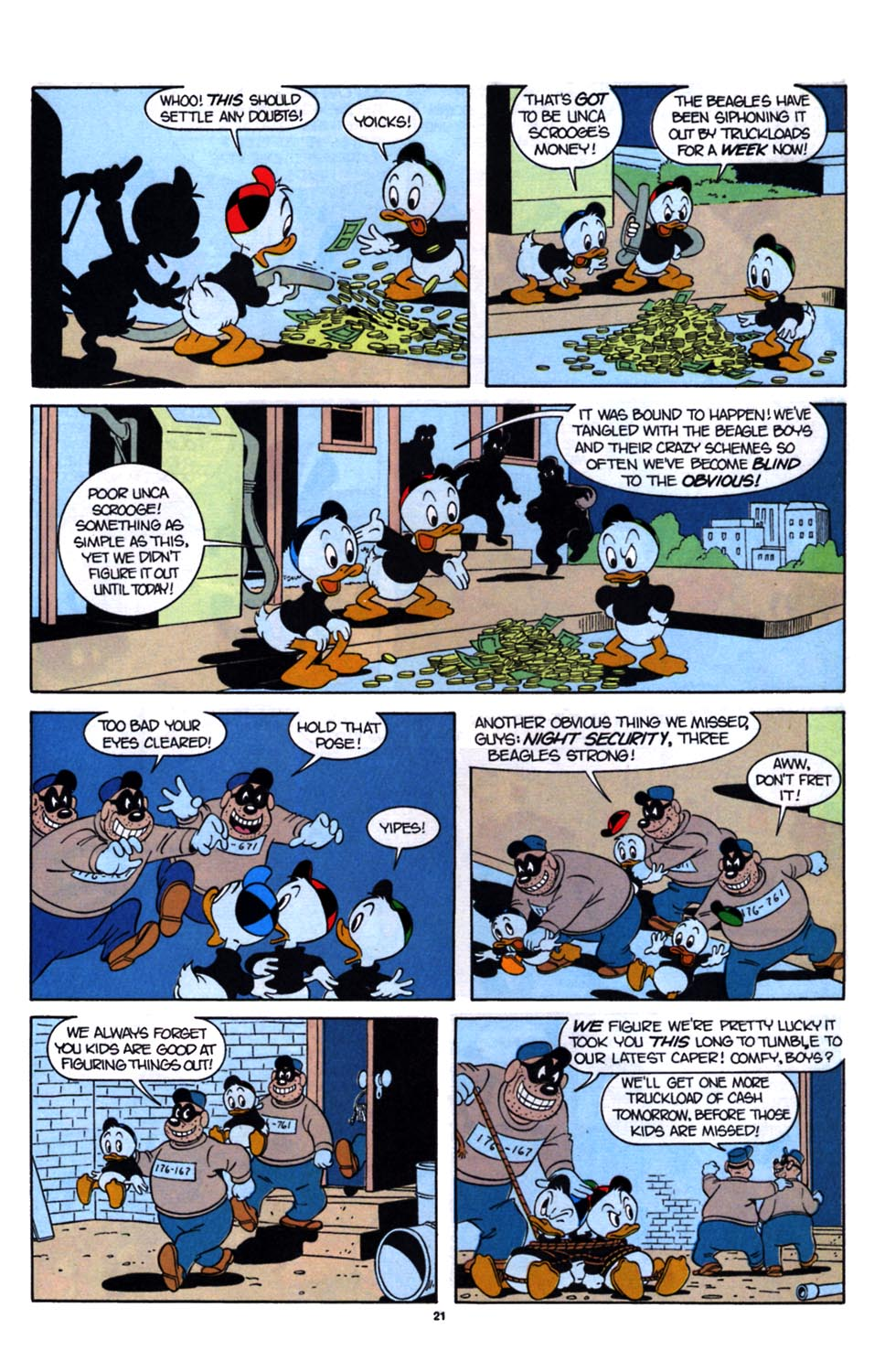 Read online Uncle Scrooge (1953) comic -  Issue #254 - 23
