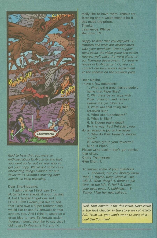Read online Ex-Mutants comic -  Issue #10 - 31