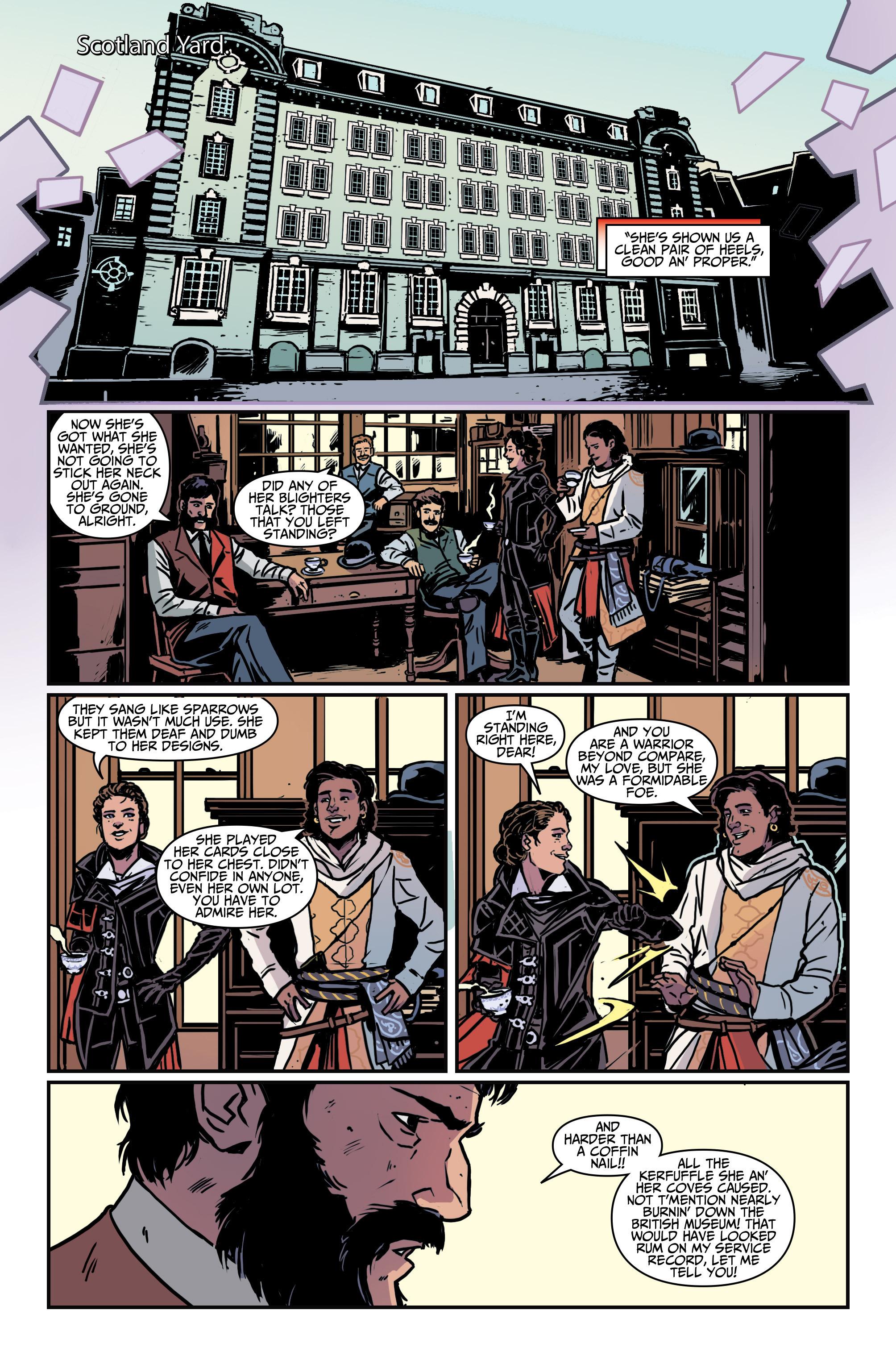 Read online Assassin's Creed: Locus comic -  Issue #4 - 18