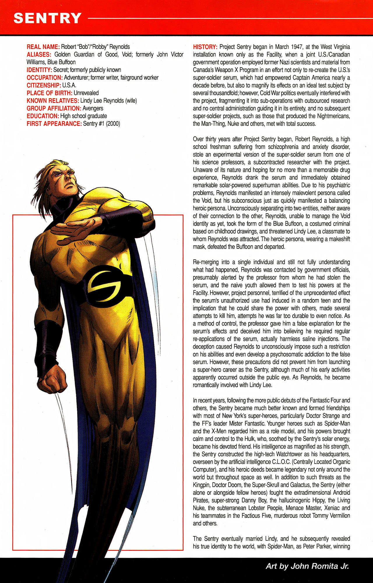 Read online All-New Official Handbook of the Marvel Universe A to Z comic -  Issue #9 - 60