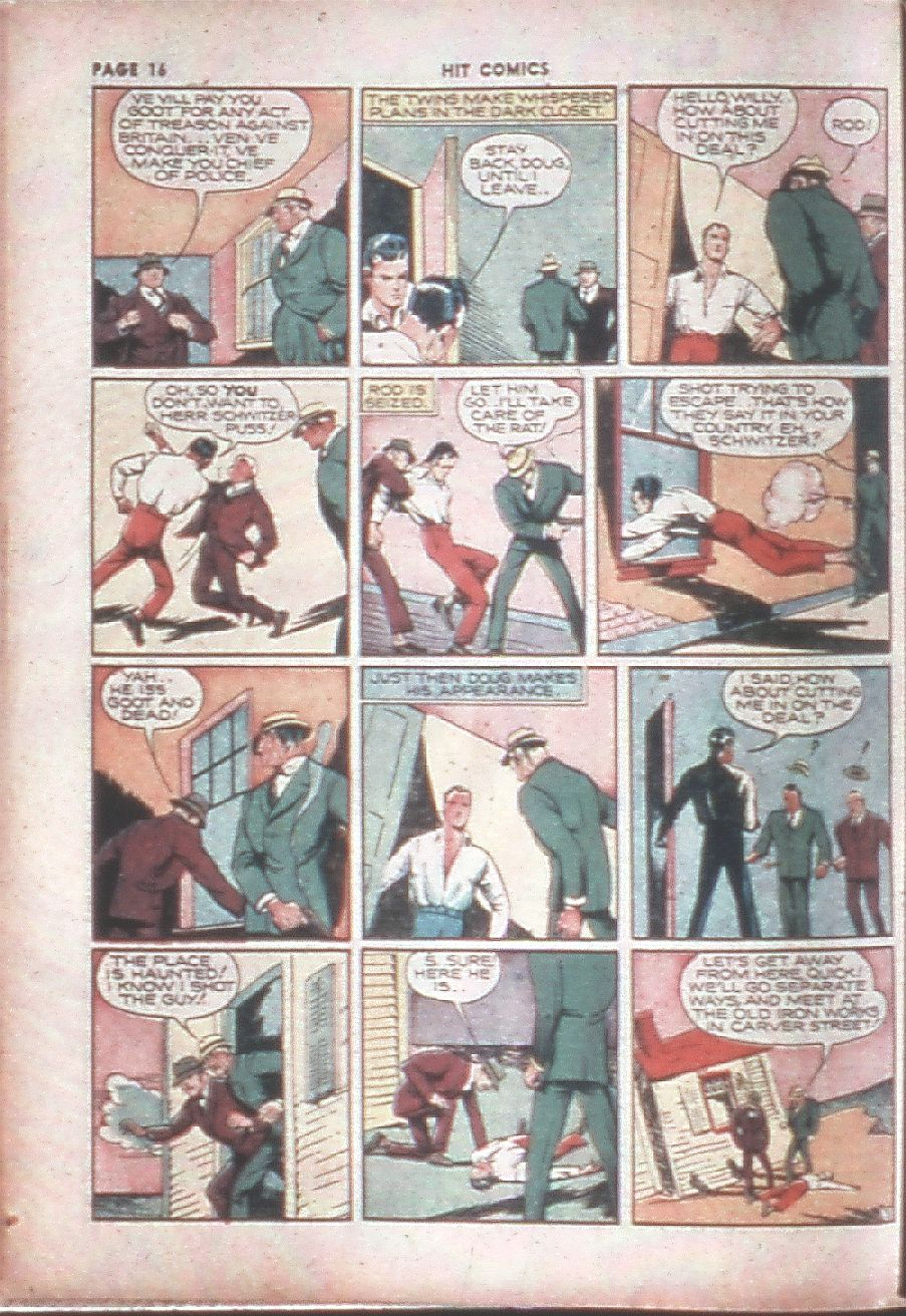 Read online Hit Comics comic -  Issue #8 - 18