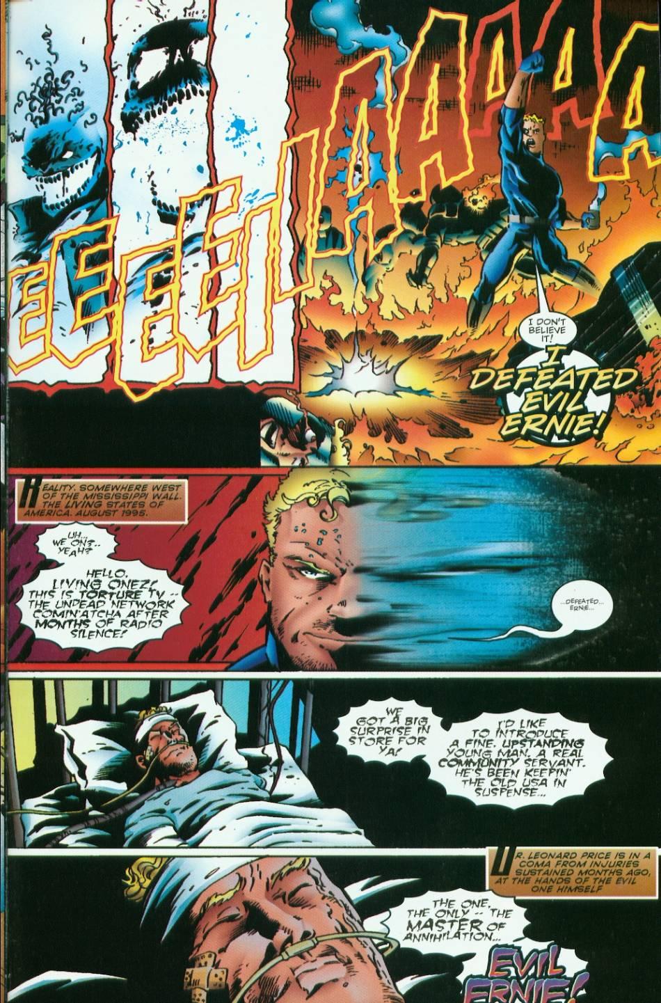 Read online Evil Ernie vs. the Superheroes comic -  Issue #1 - 29
