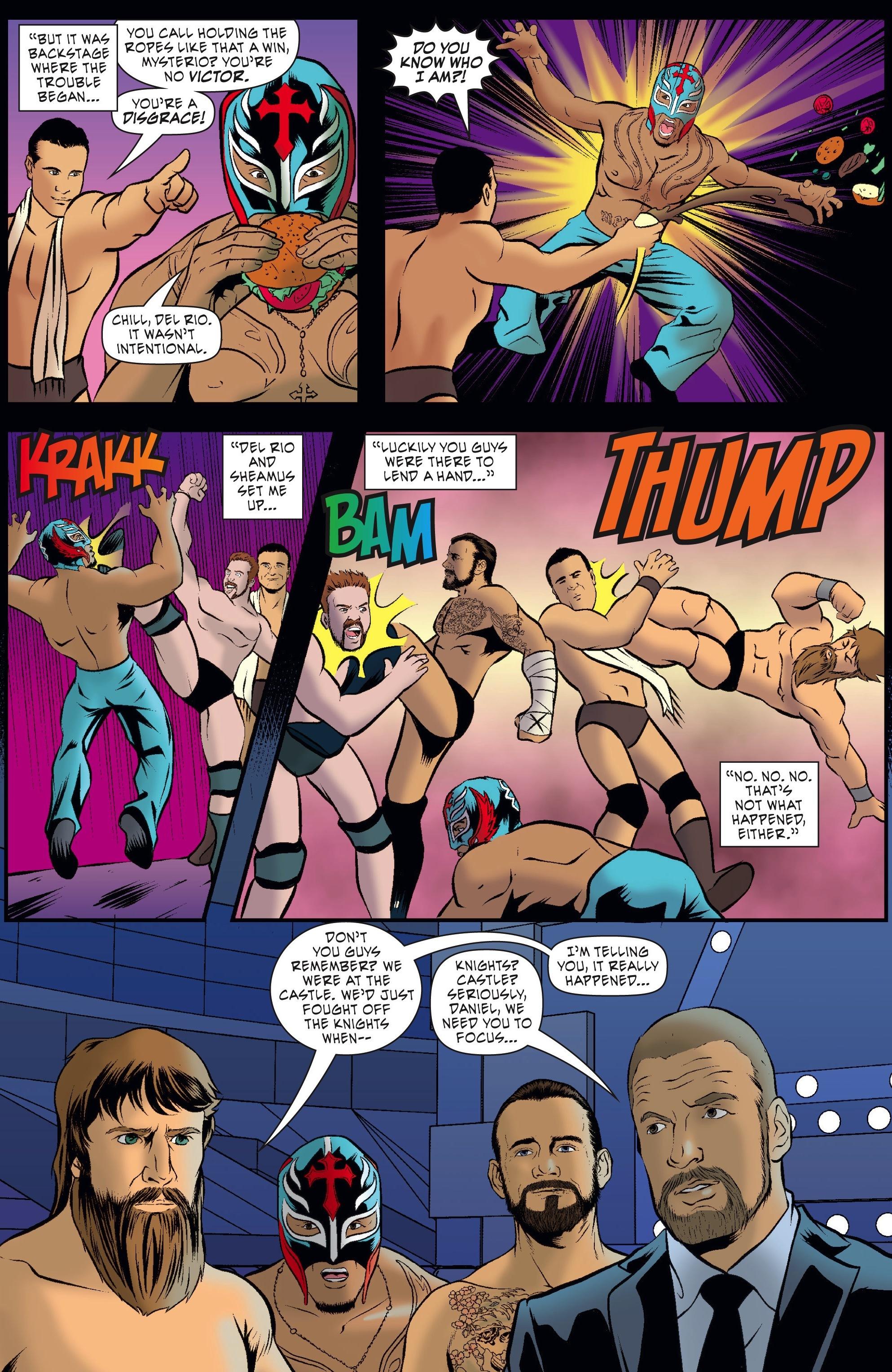 Read online WWE Superstars comic -  Issue #5 - 15