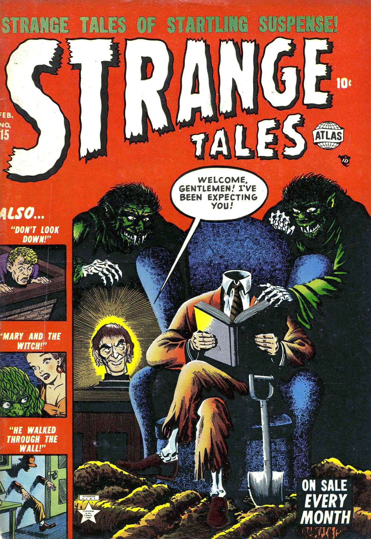 Strange Tales (1951) 15 Page 1