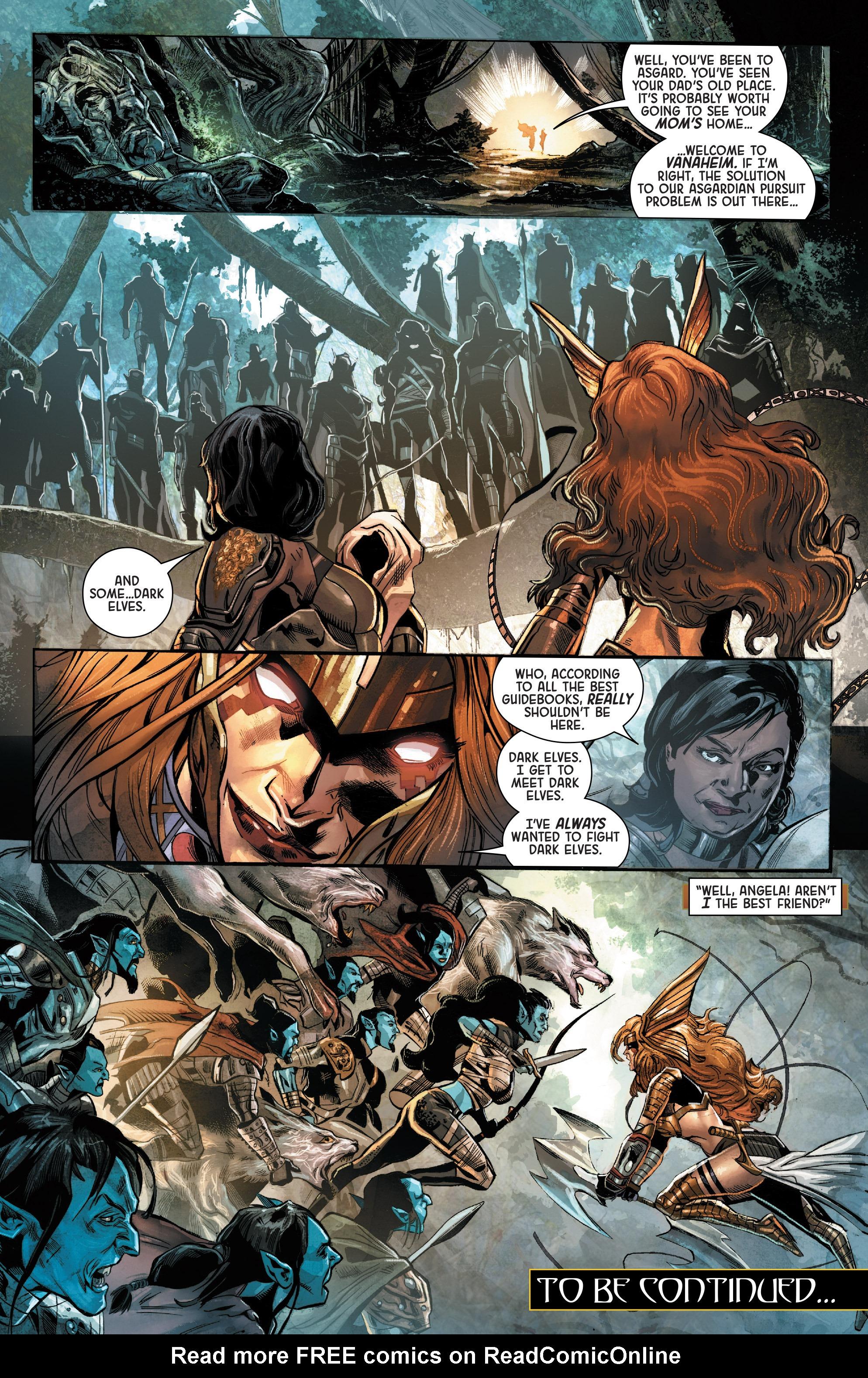 Read online Angela: Asgard's Assassin comic -  Issue #2 - 20