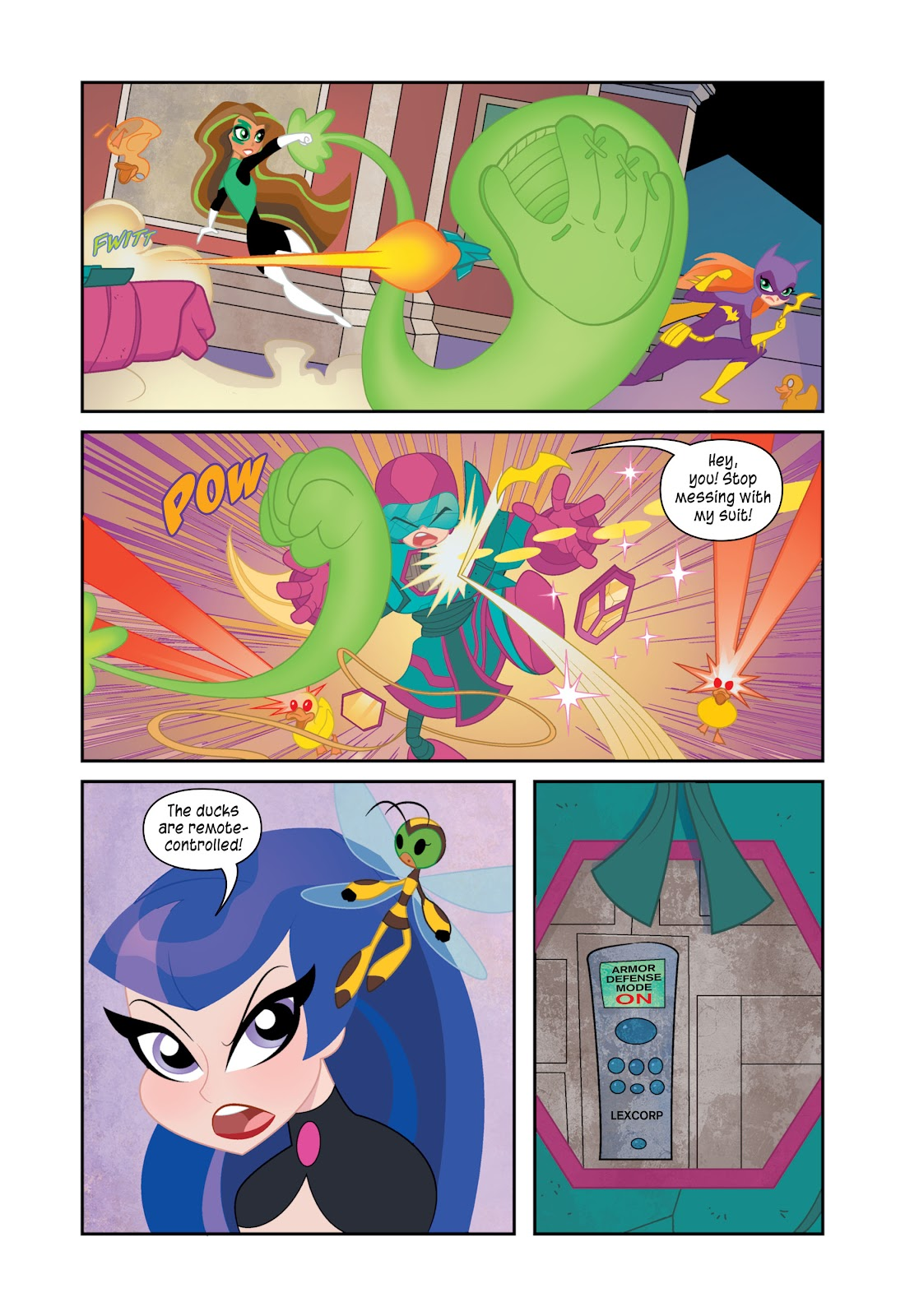 Read online DC Super Hero Girls: At Metropolis High comic -  Issue # TPB - 116