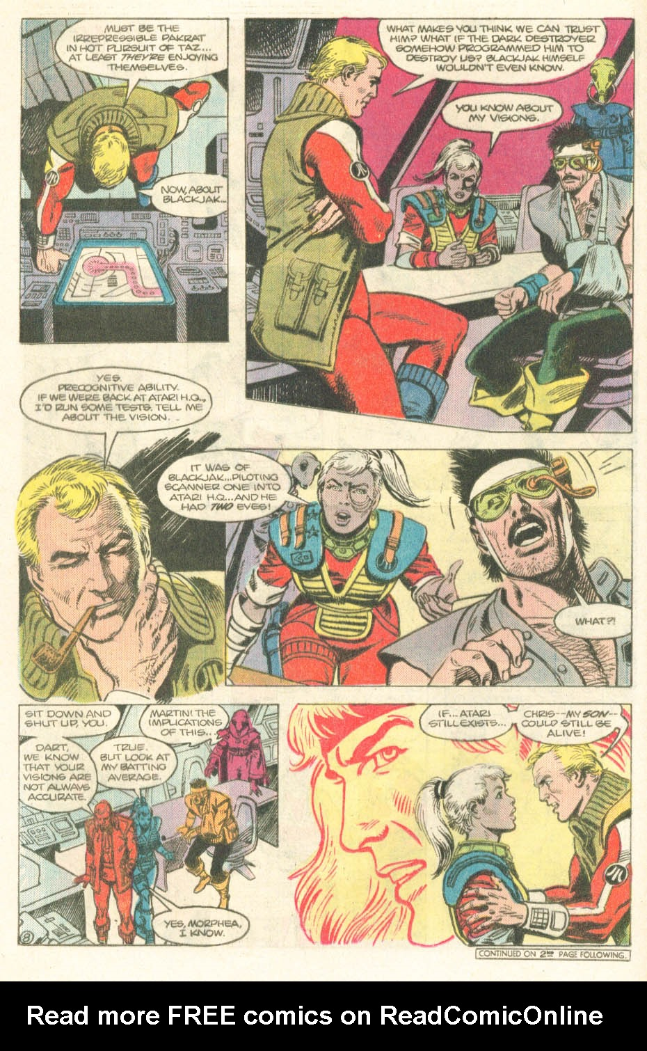 Read online Atari Force (1984) comic -  Issue #14 - 10