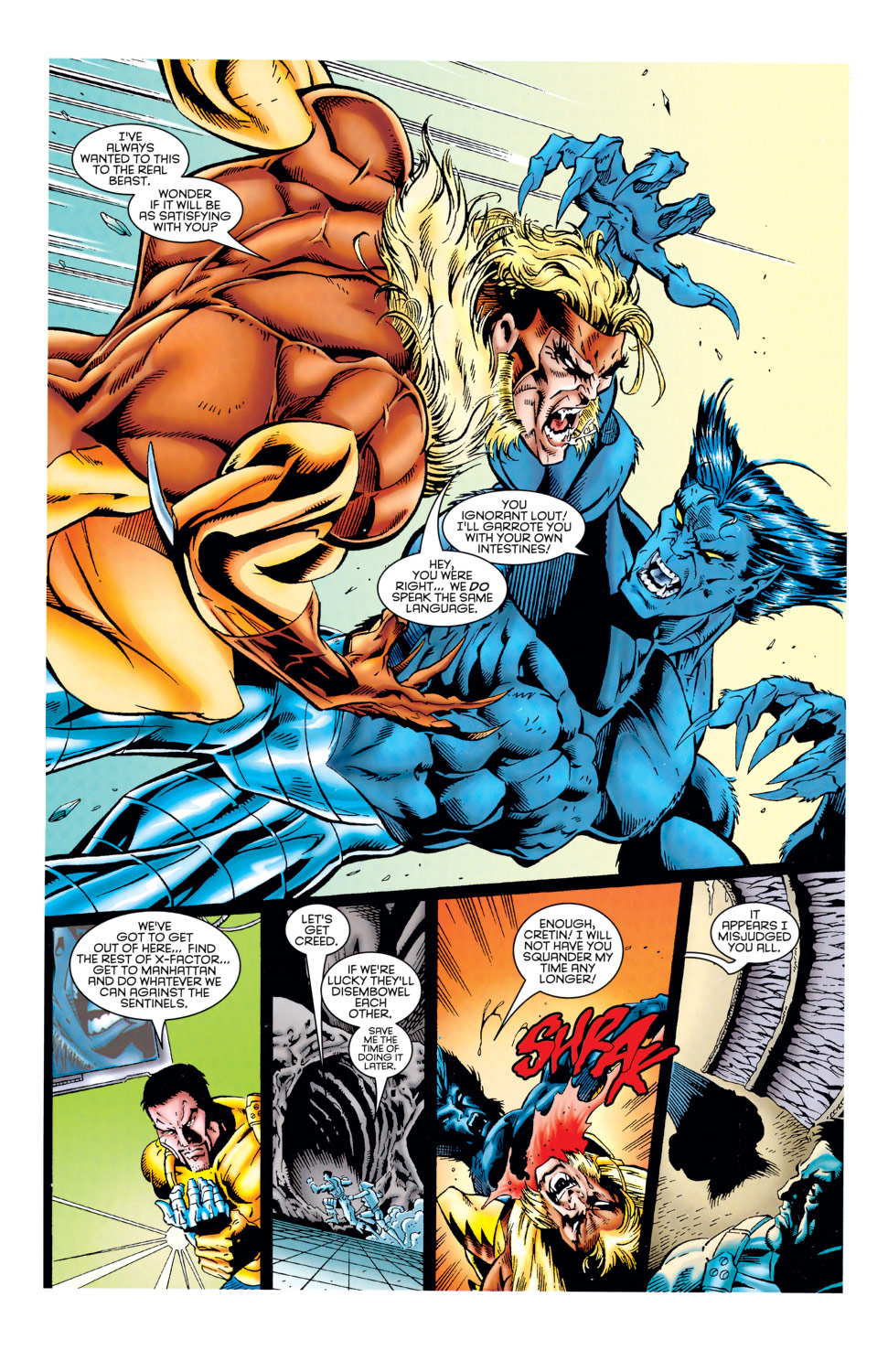Read online X-Factor (1986) comic -  Issue #125 - 34