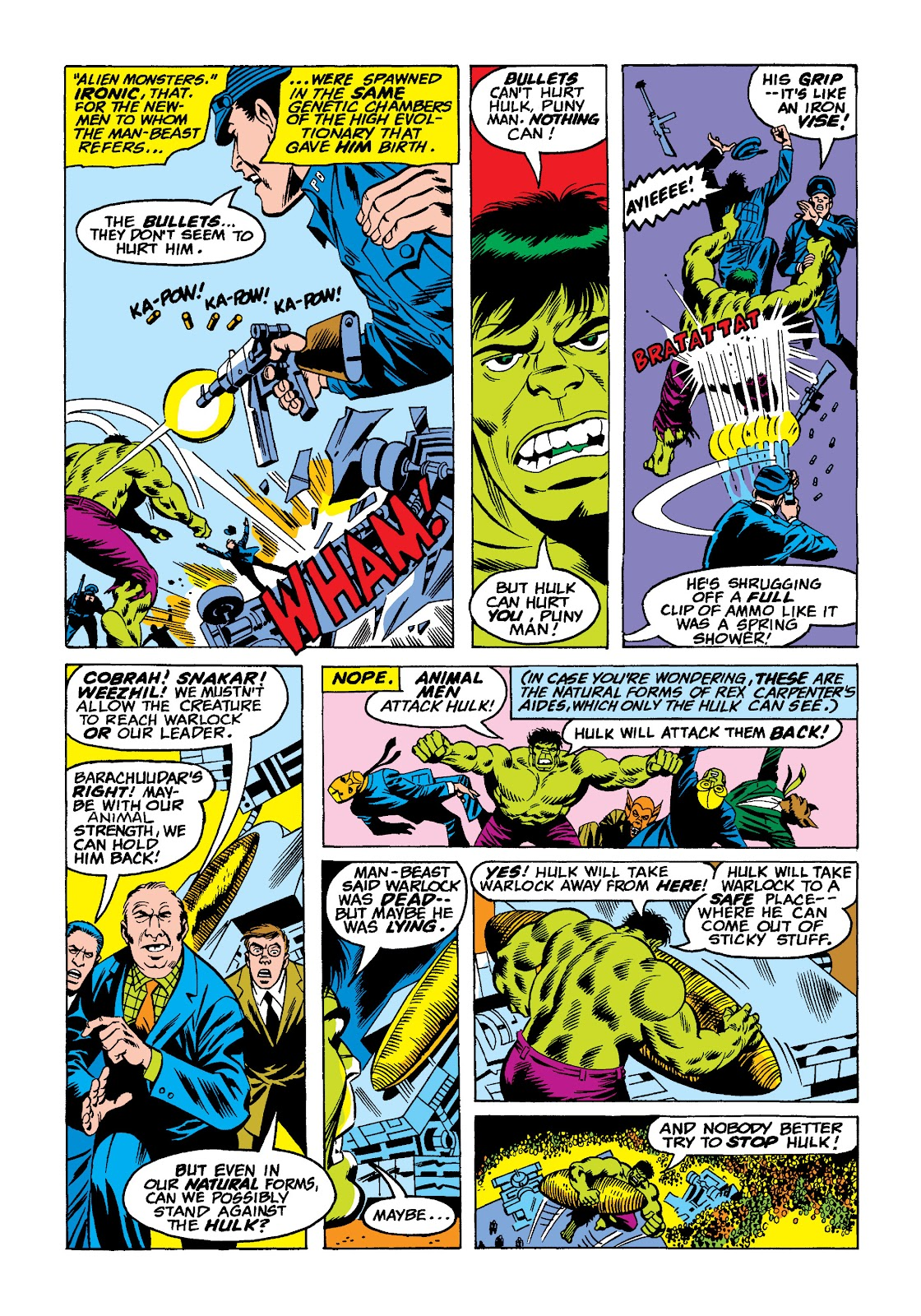 Read online Marvel Masterworks: The Incredible Hulk comic -  Issue # TPB 10 (Part 2) - 49