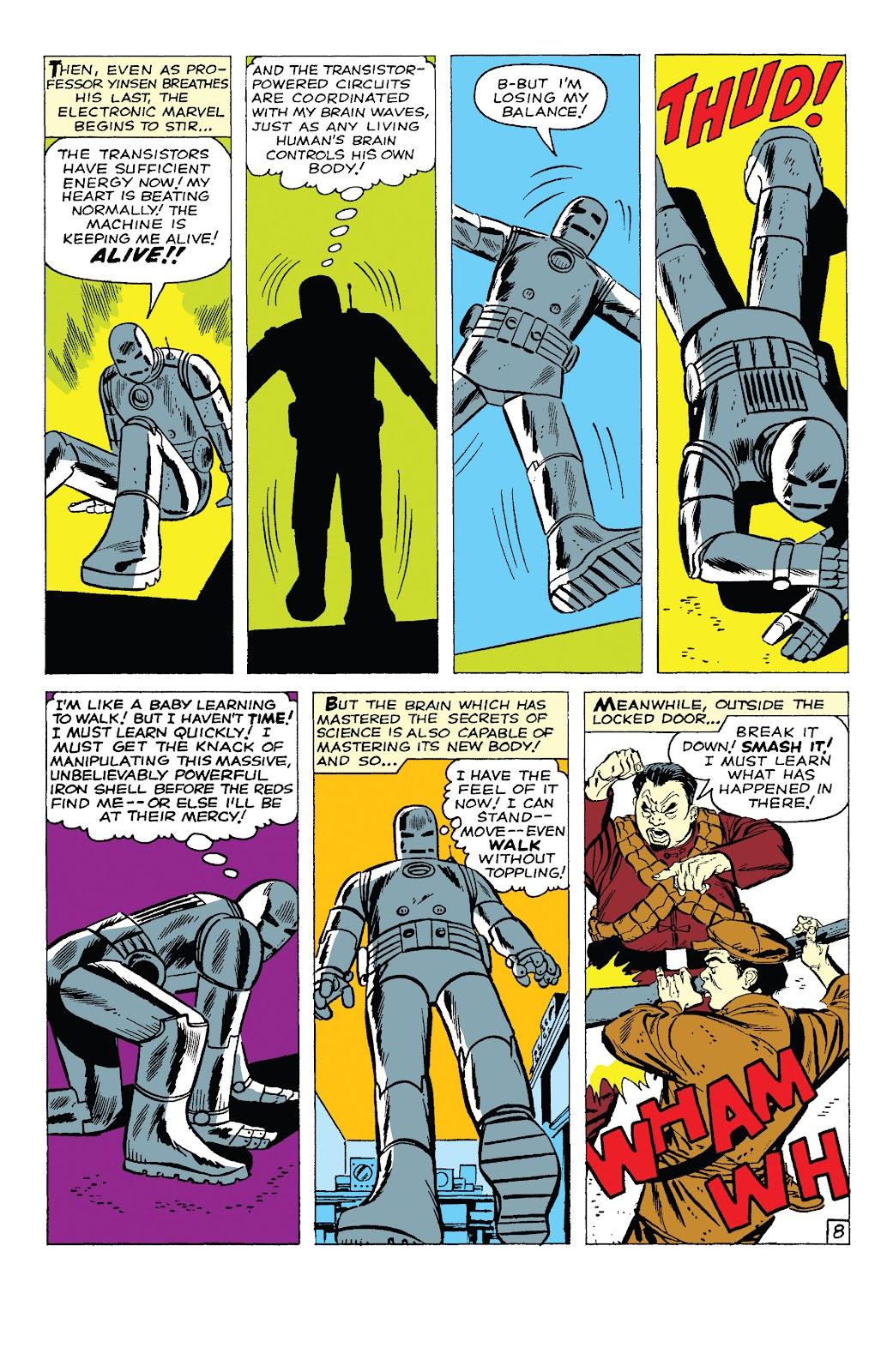 Read online Marvel Tales: Iron Man comic -  Issue # Full - 13