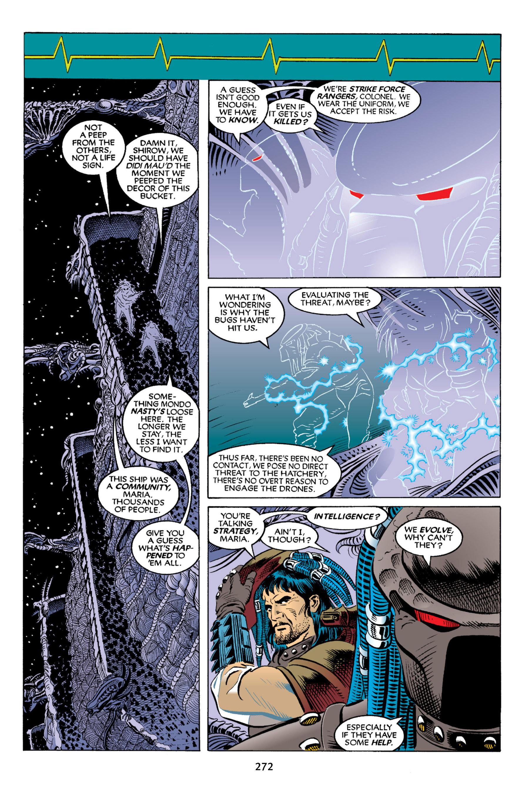 Read online Aliens vs. Predator Omnibus comic -  Issue # _TPB 2 Part 3 - 47