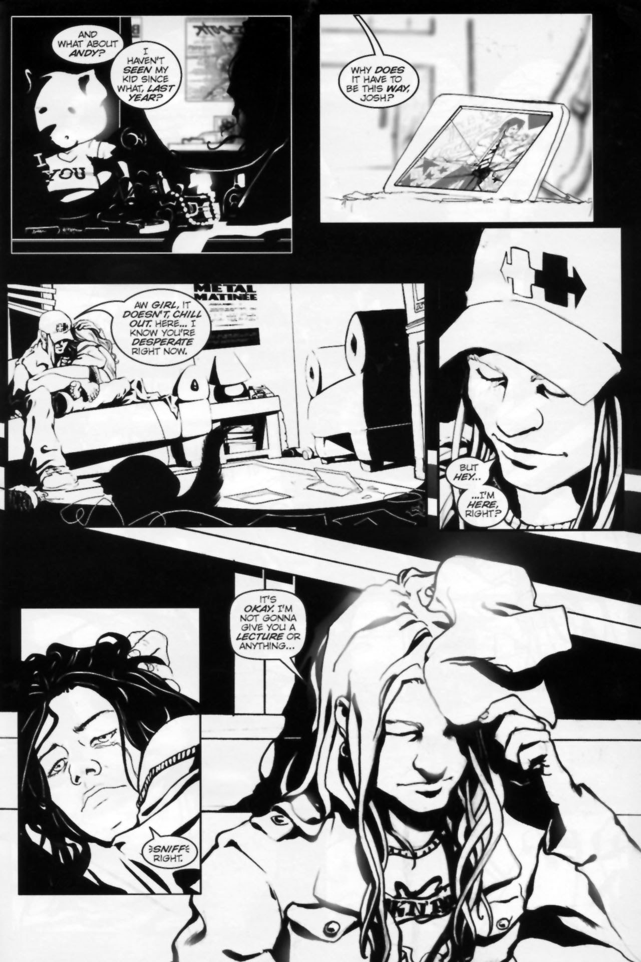 In Her Darkest Hour Full Page 8