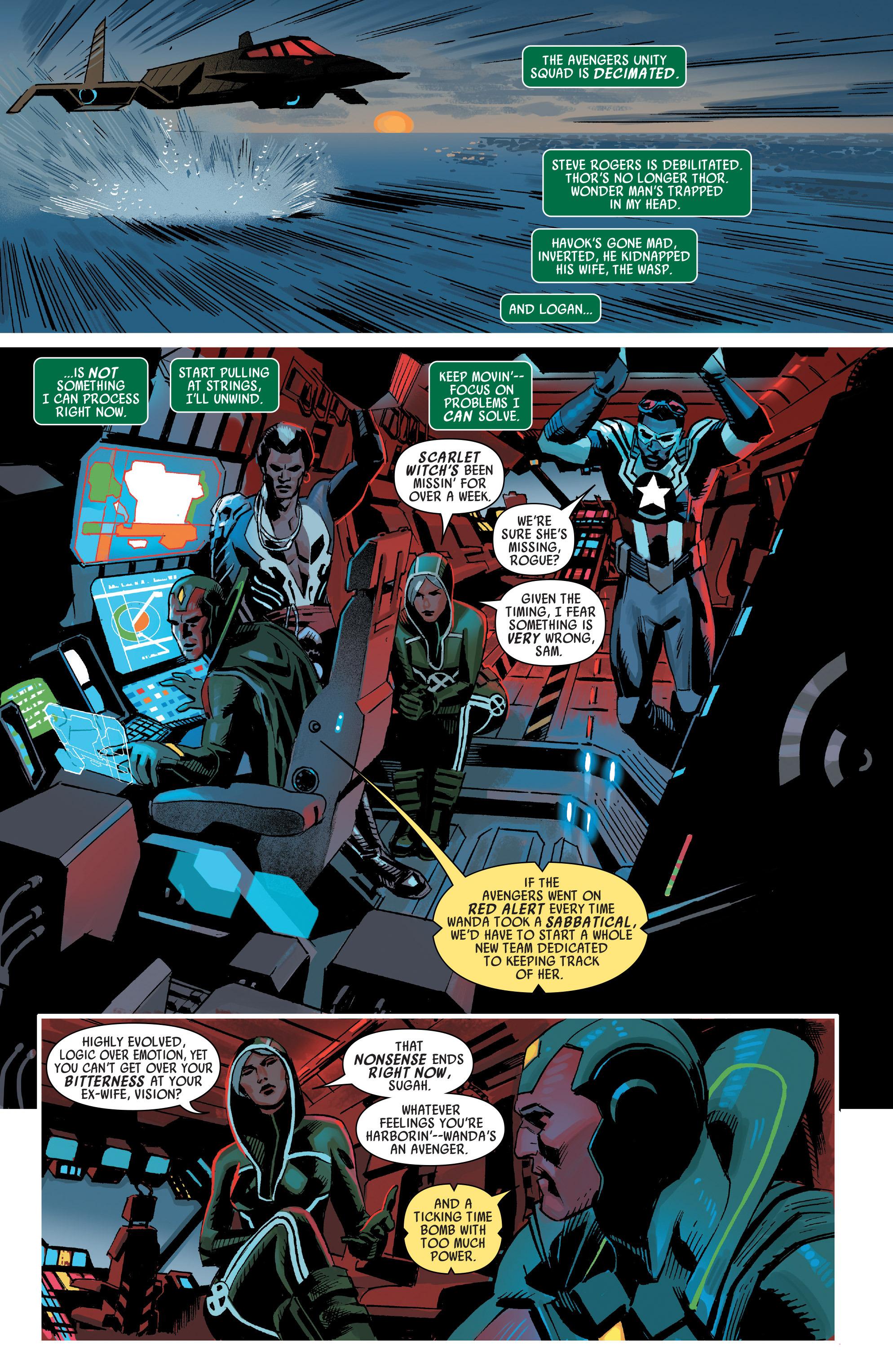 Read online Uncanny Avengers [I] comic -  Issue #1 - 9