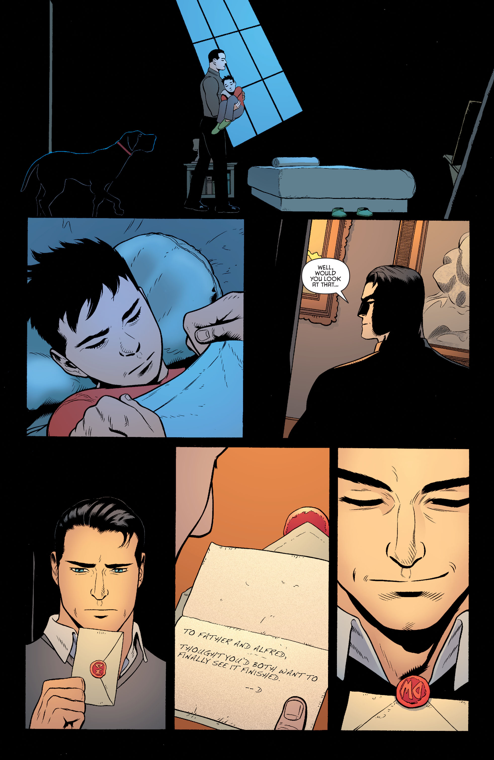 Read online Batman and Robin (2011) comic -  Issue #40 - 10
