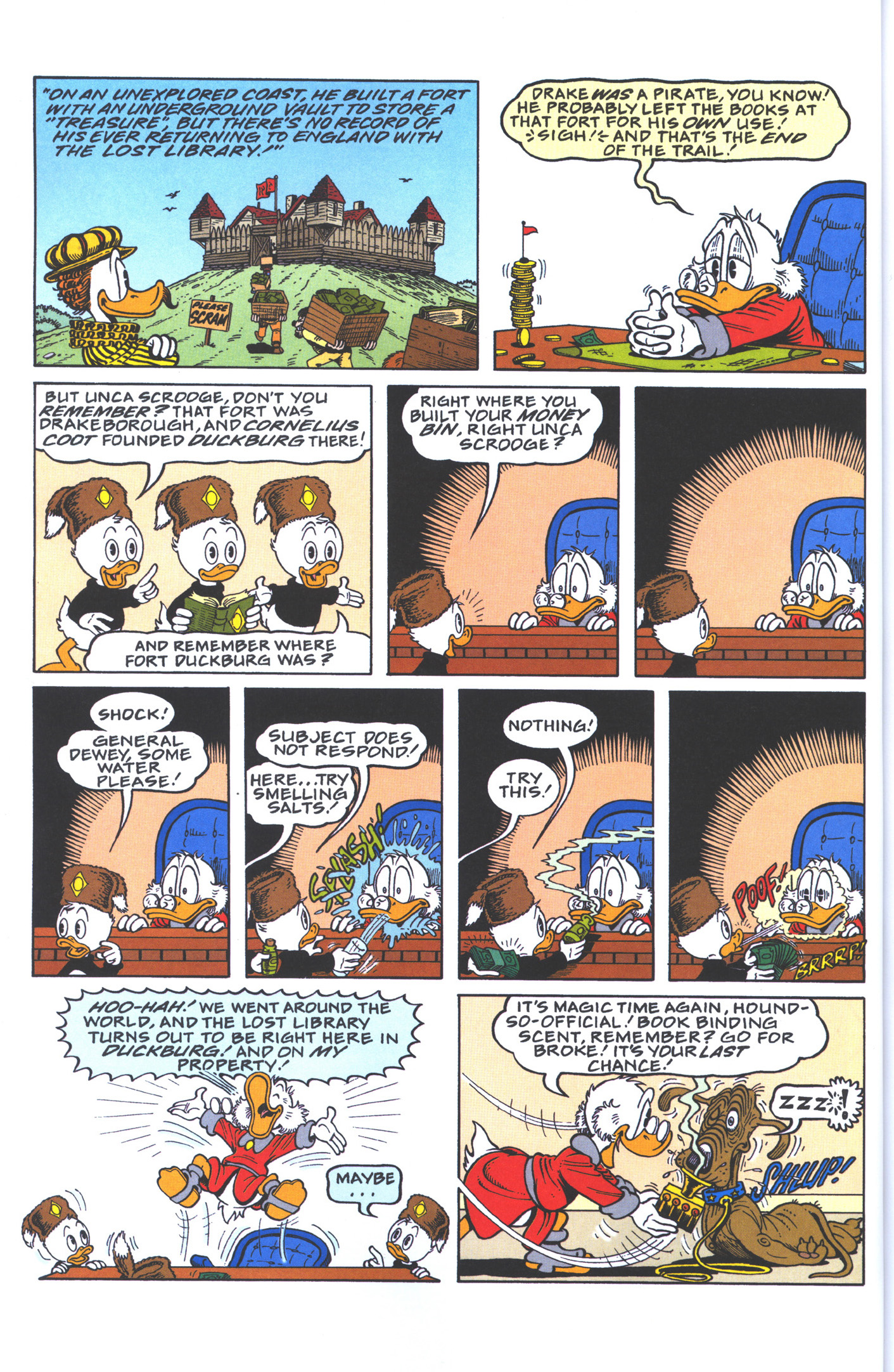 Read online Uncle Scrooge (1953) comic -  Issue #383 - 24