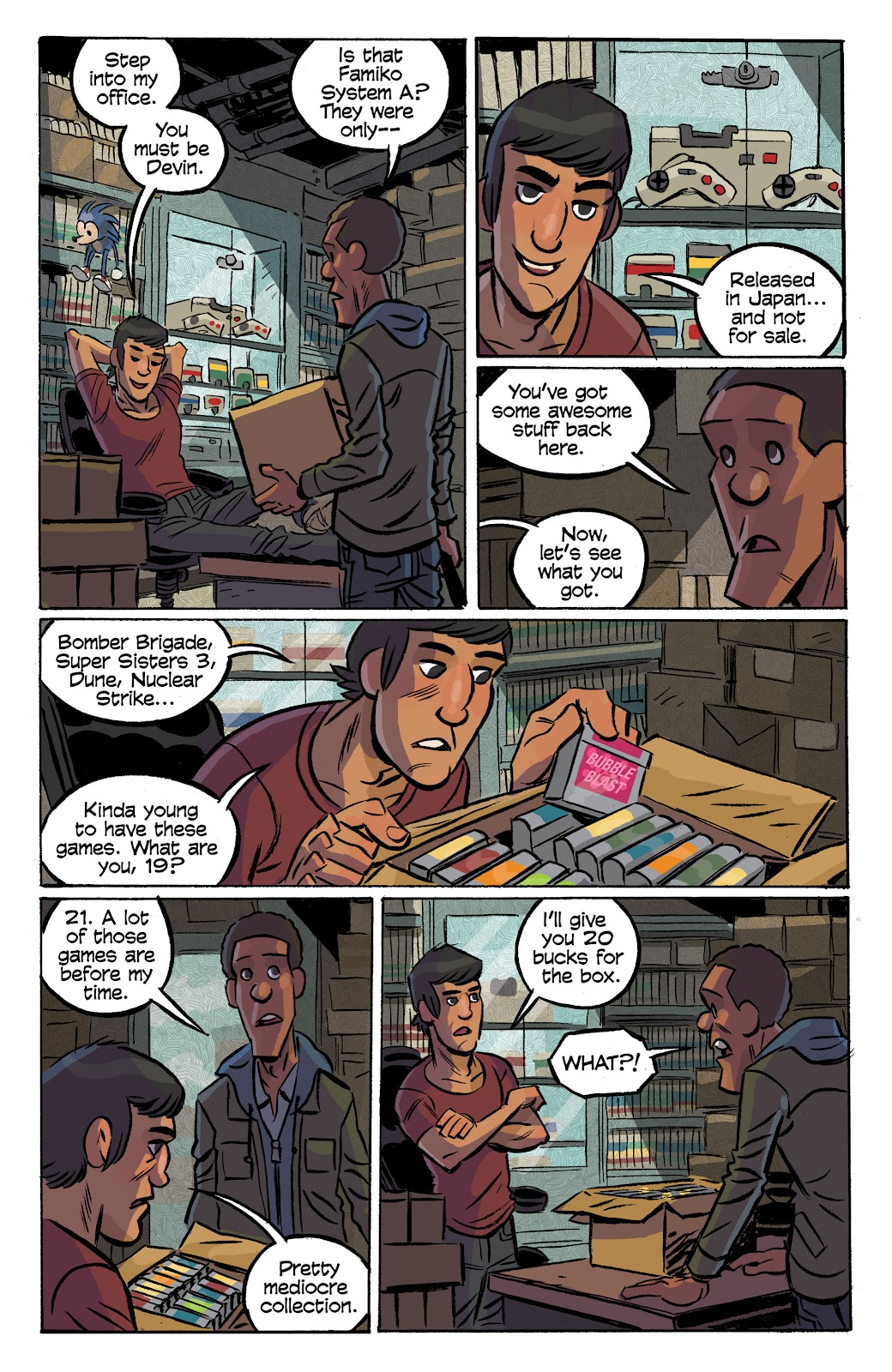 Read online Cellies comic -  Issue #8 - 14