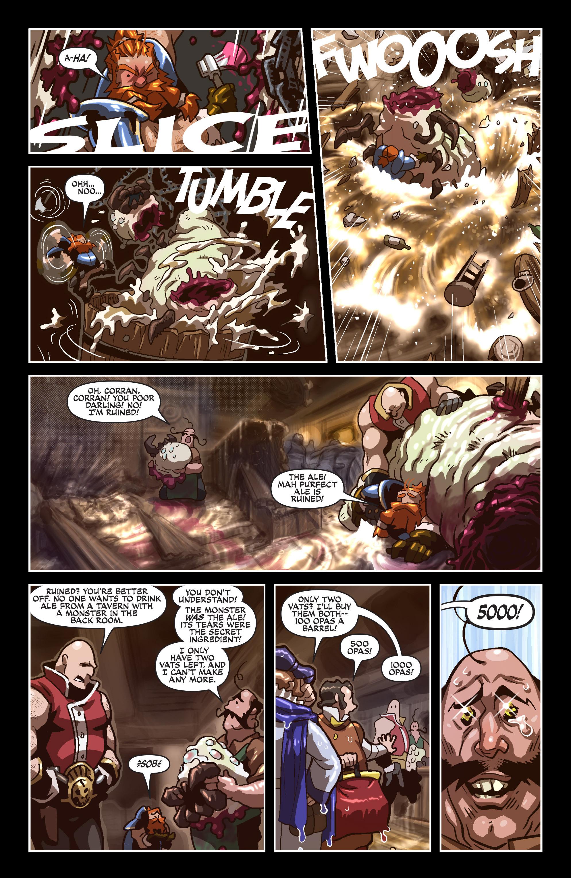 Read online Skullkickers comic -  Issue #18 - 21