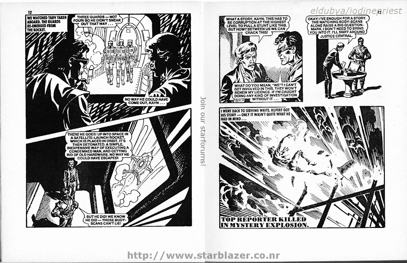 Starblazer issue 207 - Page 8