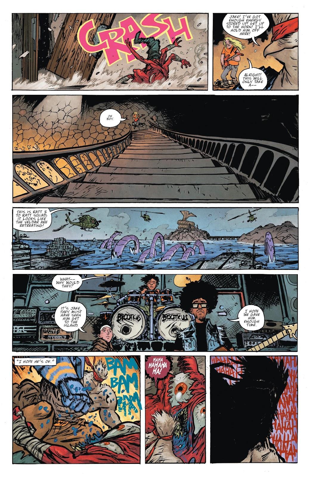 Read online Murder Falcon comic -  Issue #8 - 12