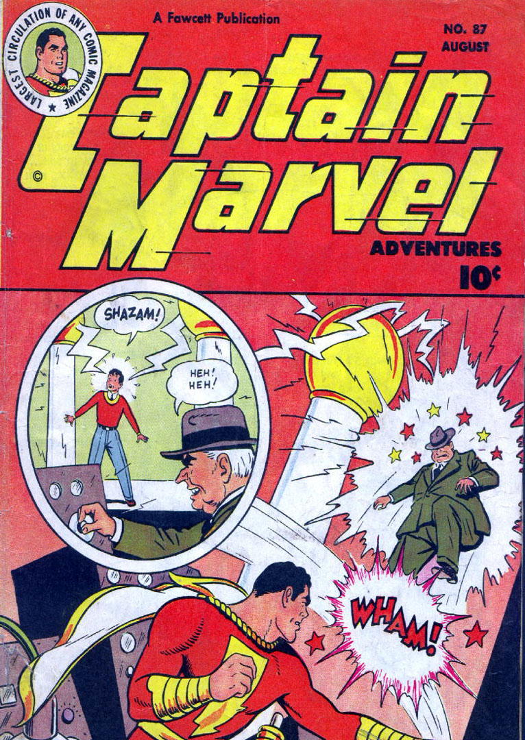 Captain Marvel Adventures issue 87 - Page 1