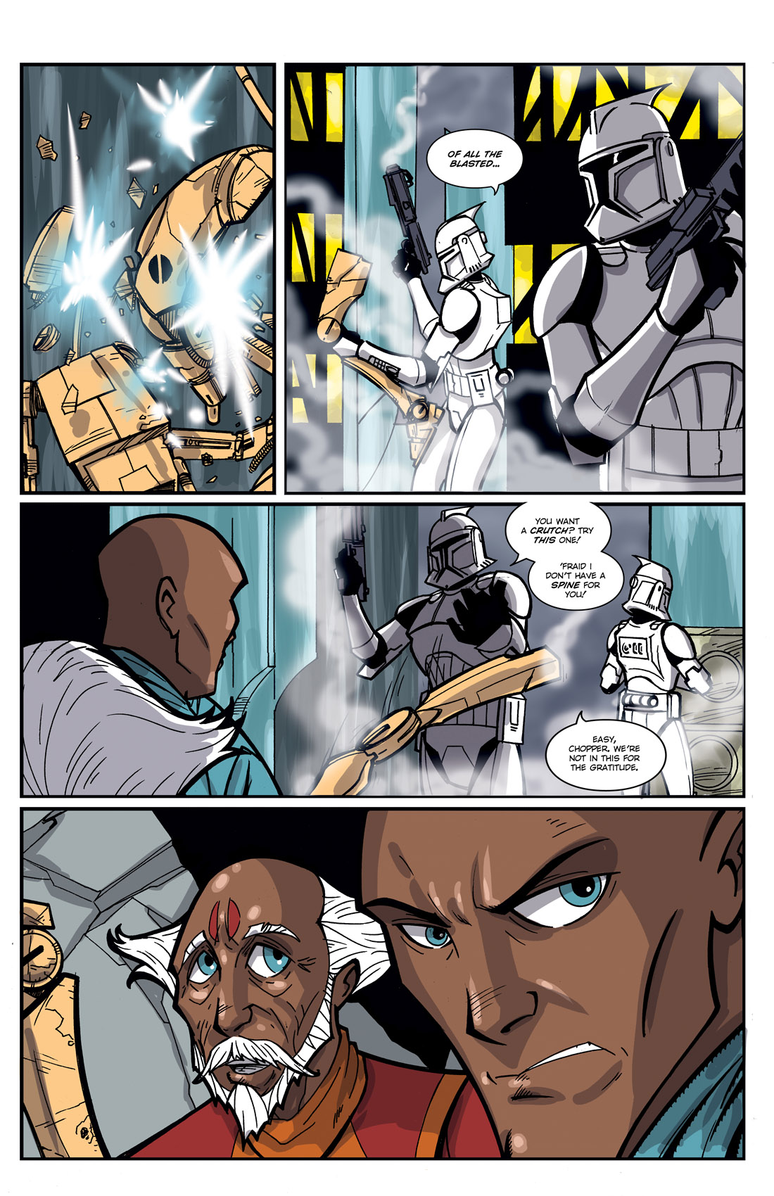 Read online Star Wars: Tales From The Clone Wars comic -  Issue # TPB - 115