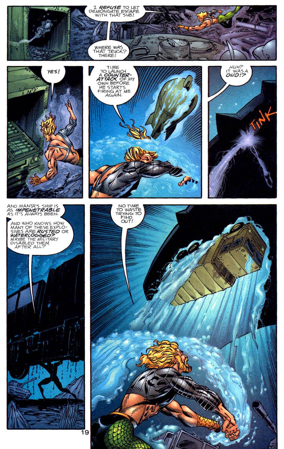 Read online Aquaman (1994) comic -  Issue #58 - 19