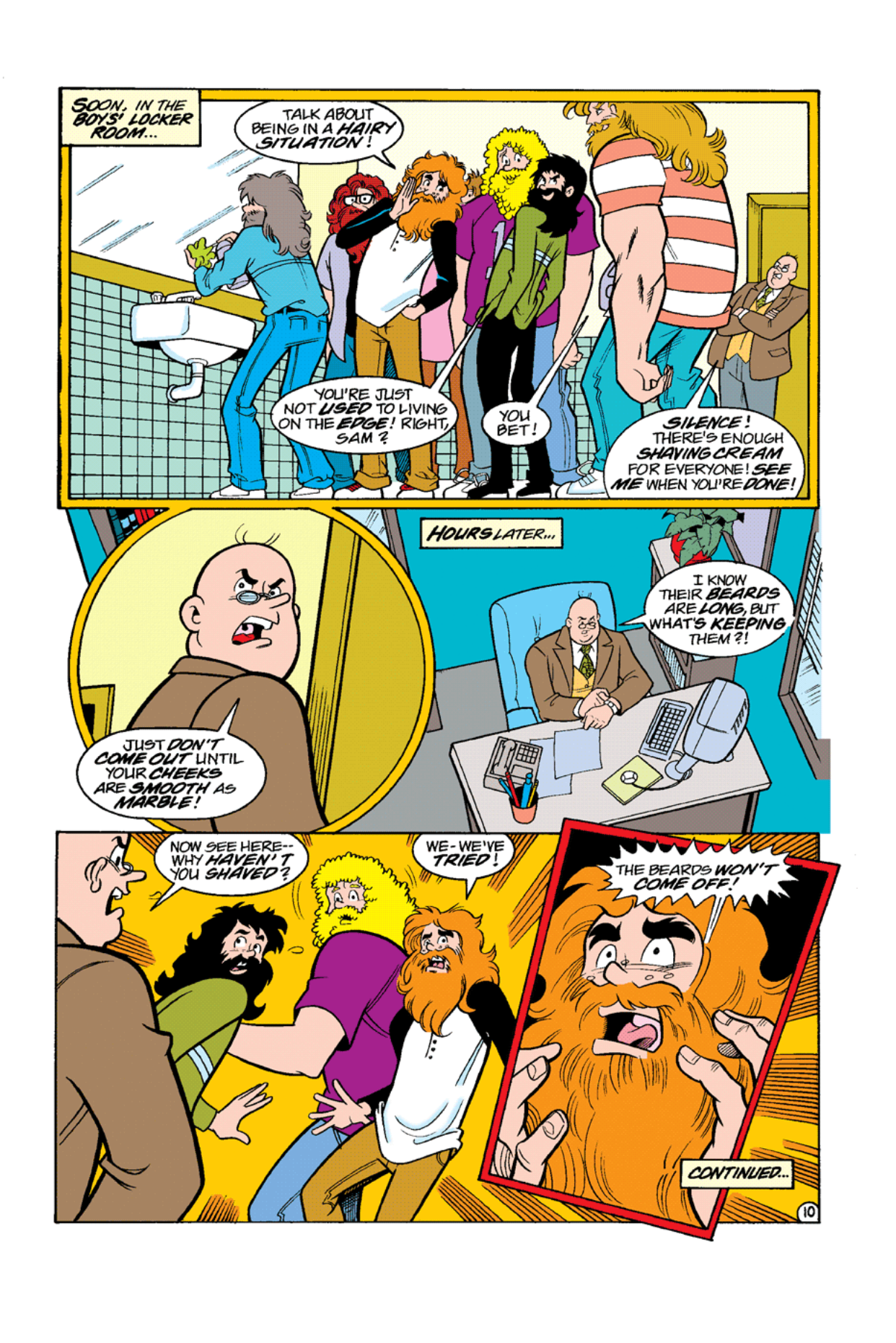 Read online Archie's Weird Mysteries comic -  Issue #10 - 12
