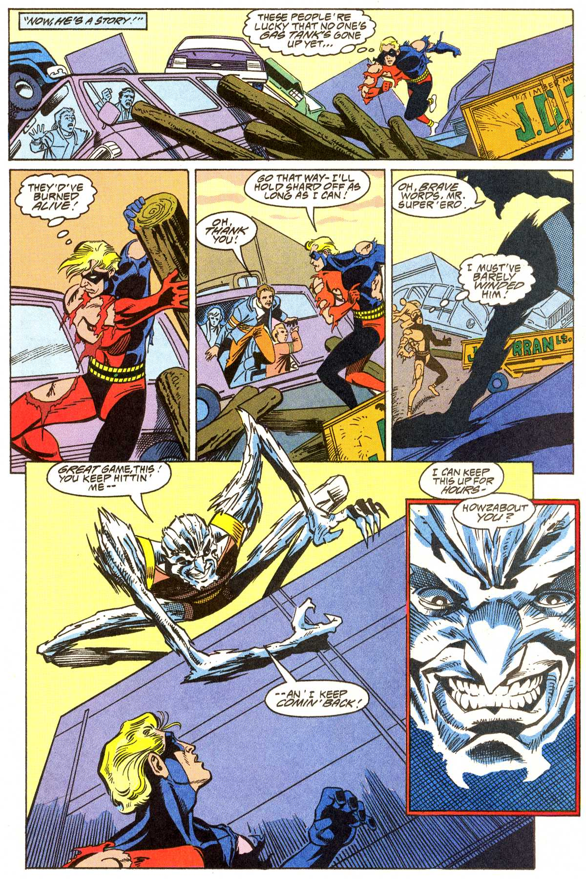 Read online Peter Cannon--Thunderbolt (1992) comic -  Issue #7 - 11