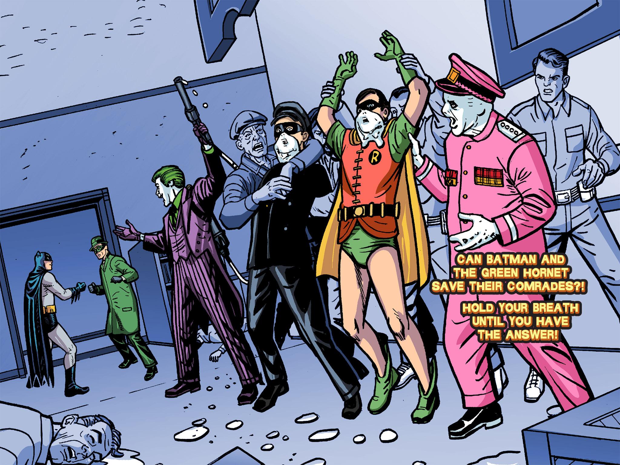 Read online Batman '66 Meets the Green Hornet [II] comic -  Issue #4 - 117