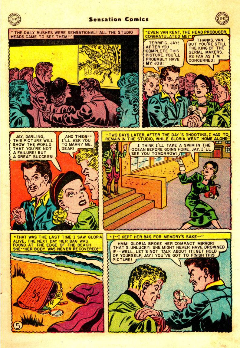 Read online Sensation (Mystery) Comics comic -  Issue #88 - 6