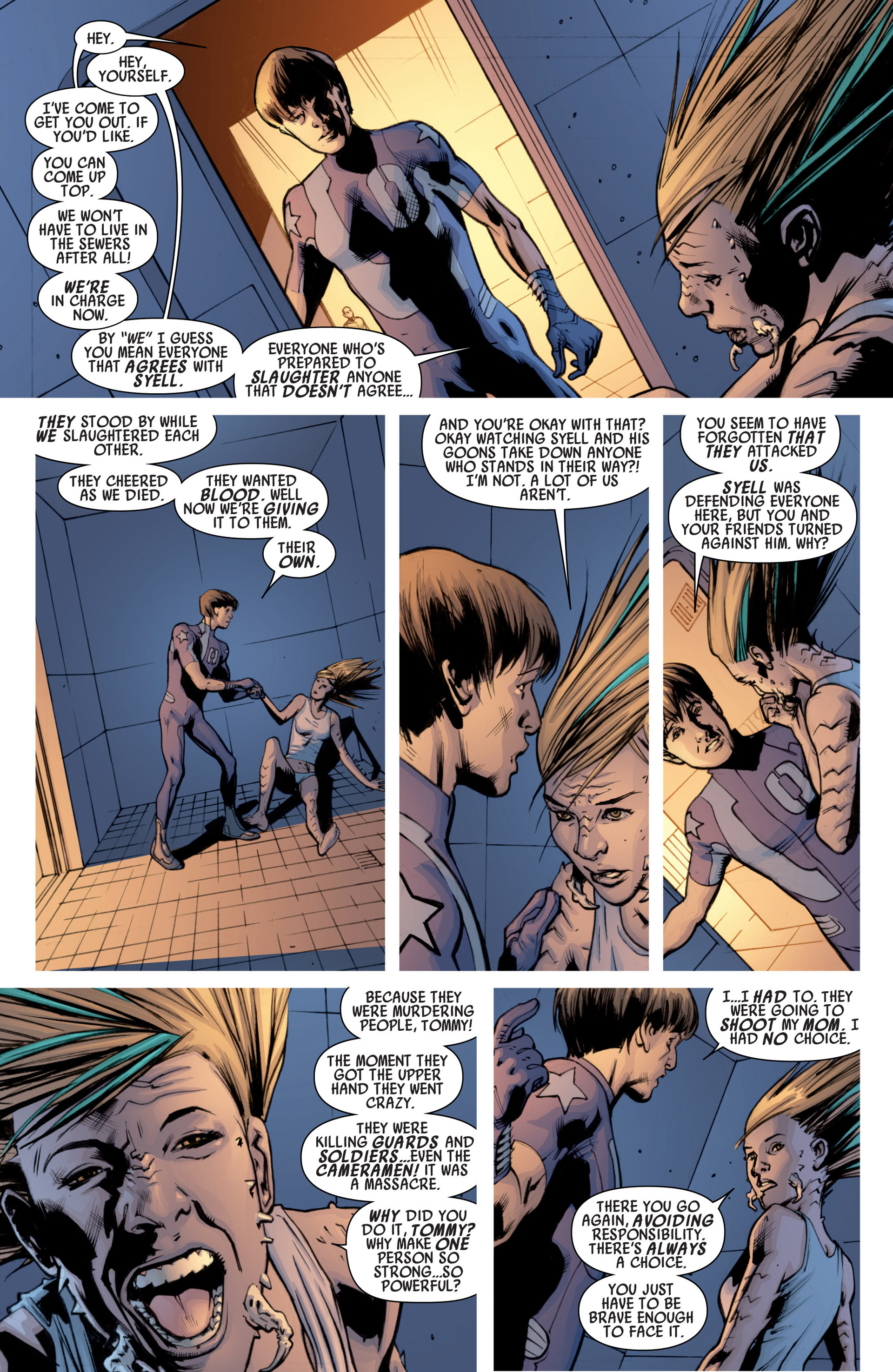 Read online America's Got Powers comic -  Issue #7 - 4