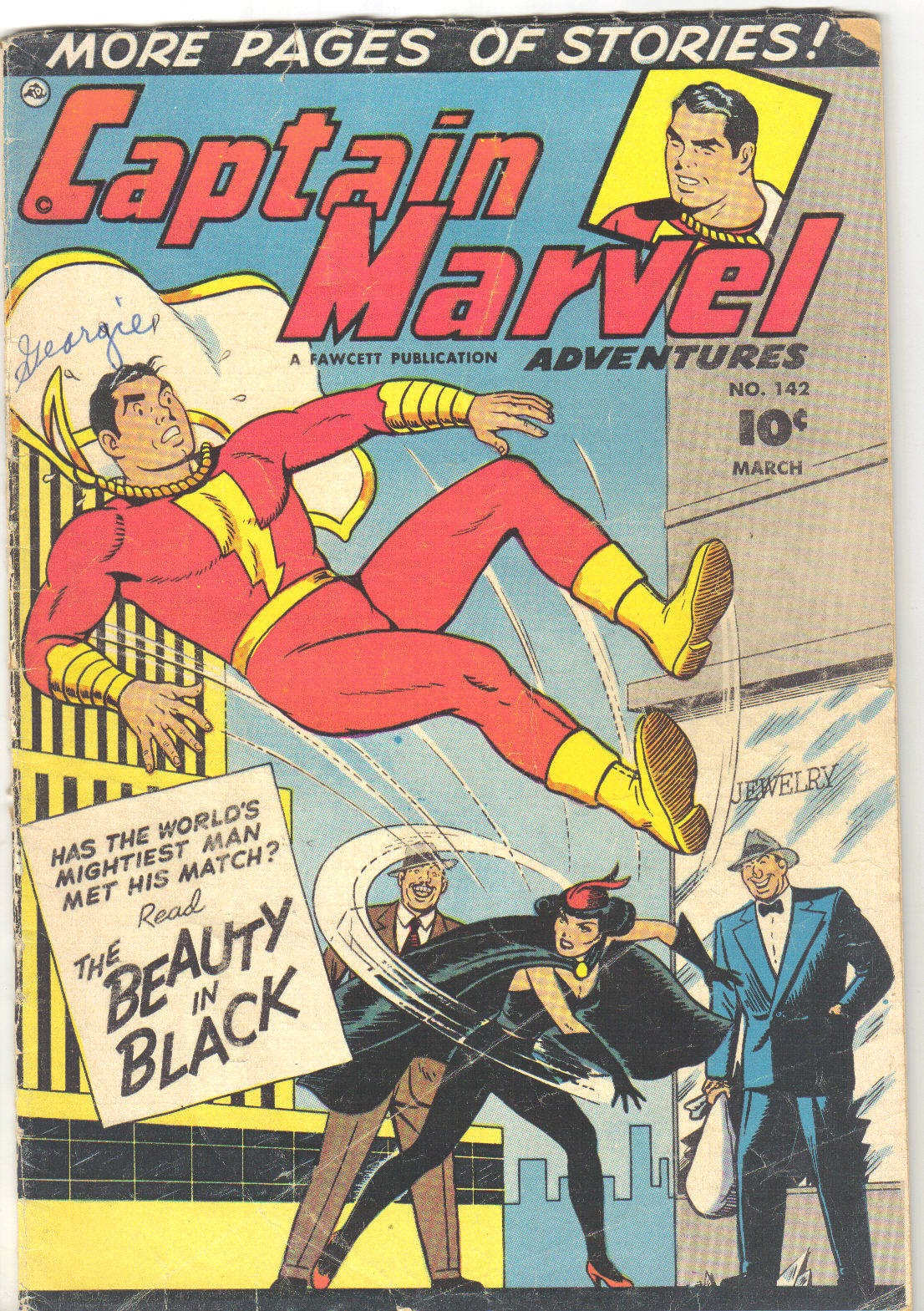 Captain Marvel Adventures issue 142 - Page 1