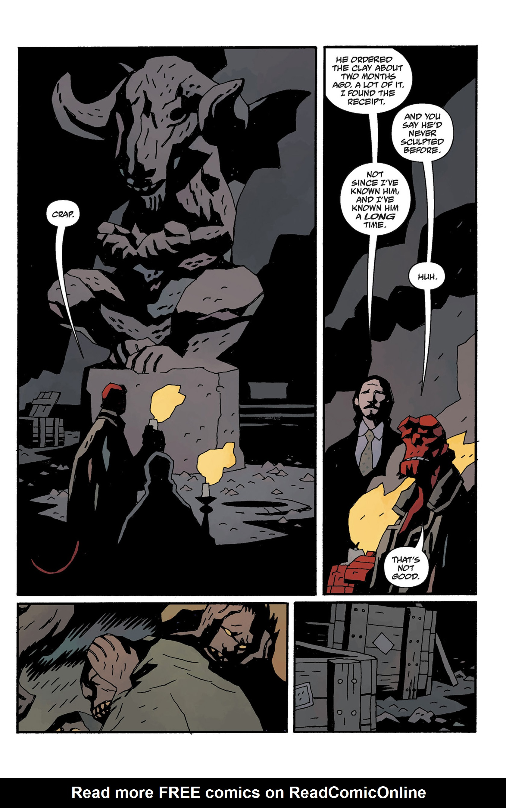 Read online Hellboy: The Crooked Man and Others comic -  Issue # TPB - 115