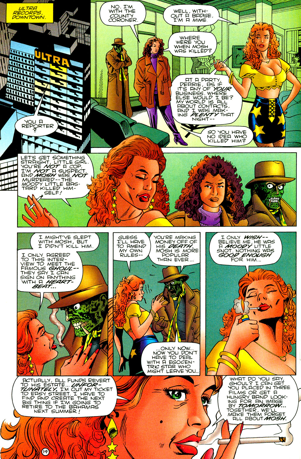 Read online UltraForce (1994) comic -  Issue #7 - 15